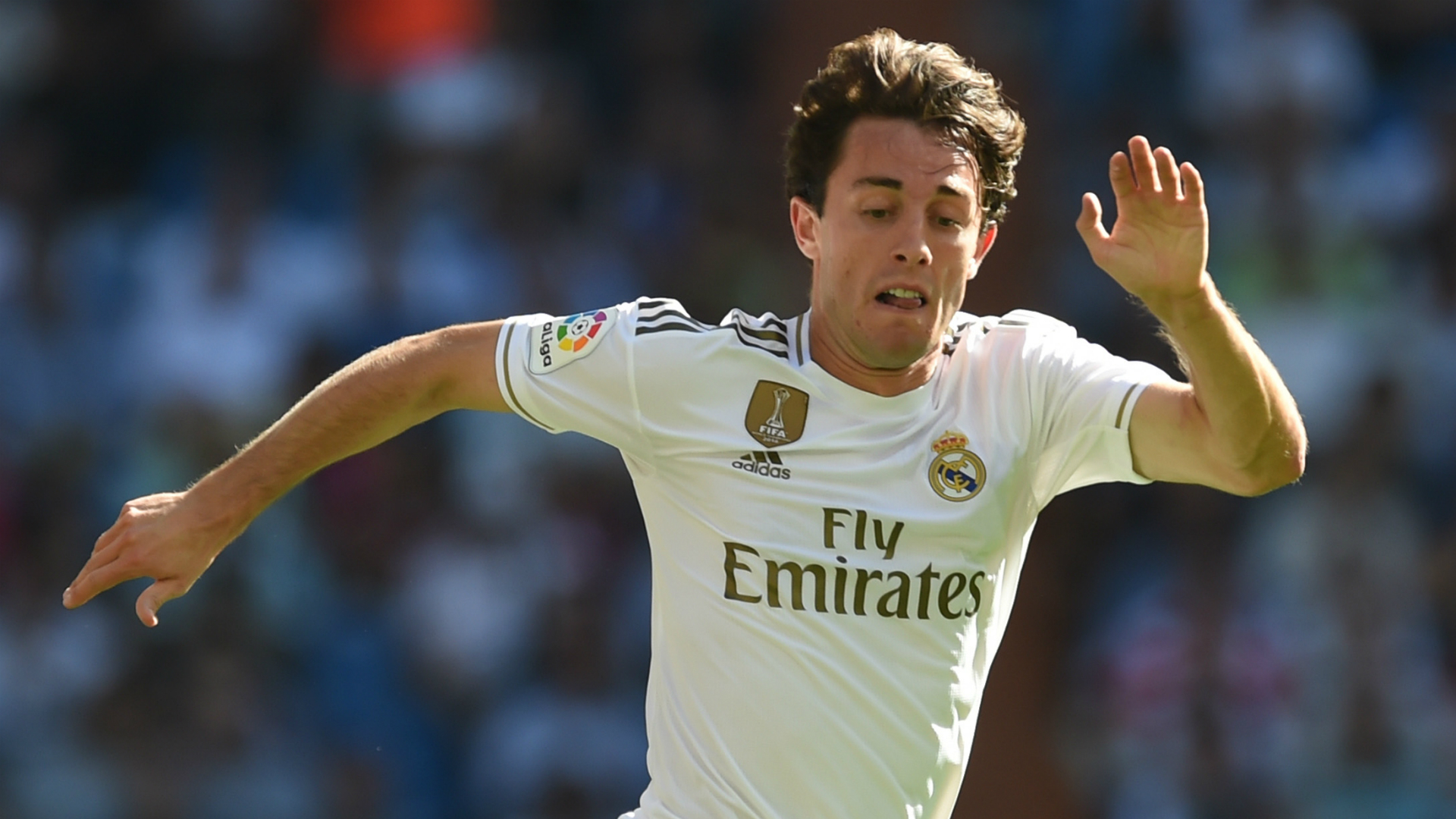 Madrid's Odriozola loaned to Bayern for rest of the season