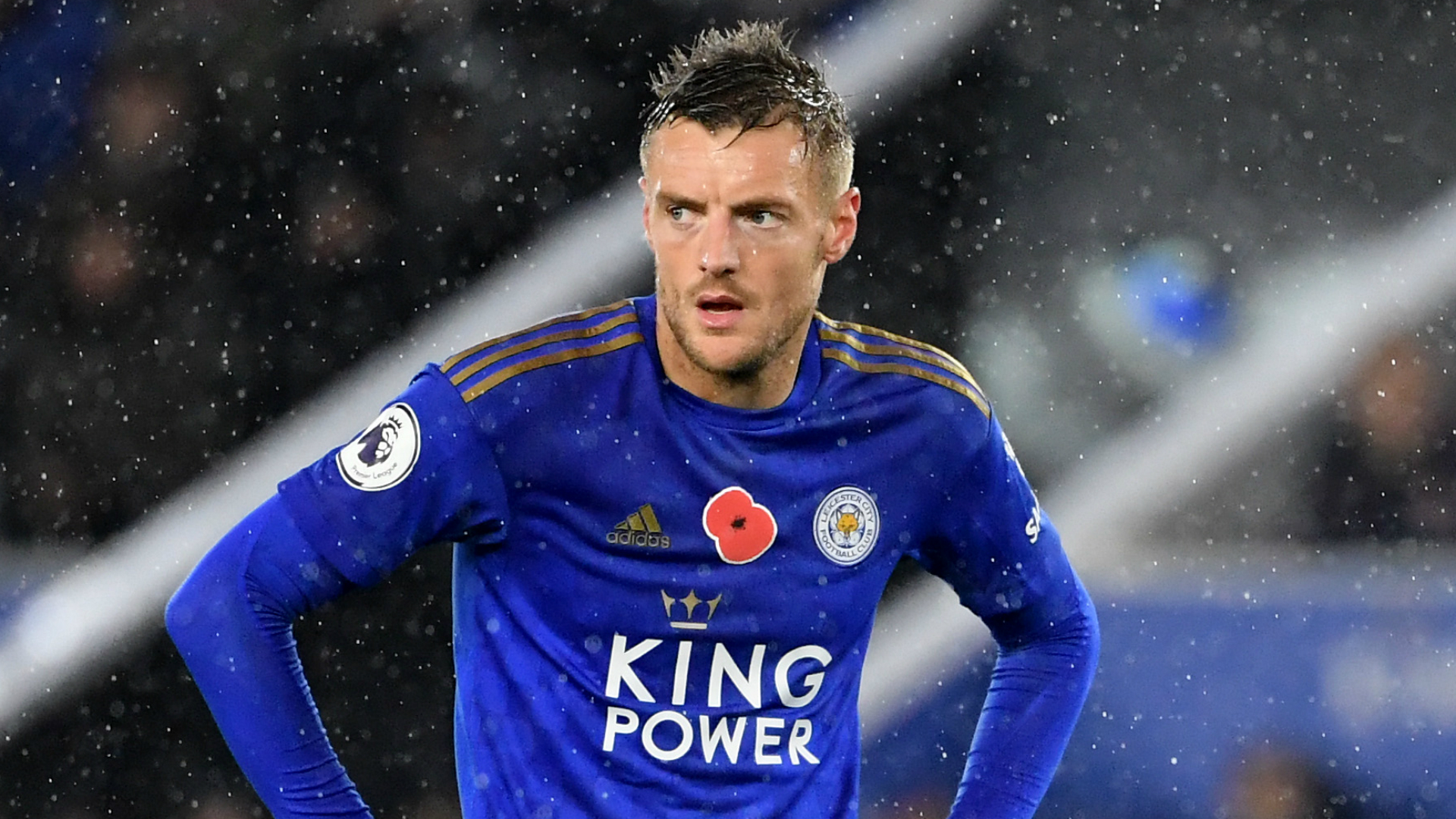 Rodgers reveals Vardy suffered glute twinge, not hamstring blow
