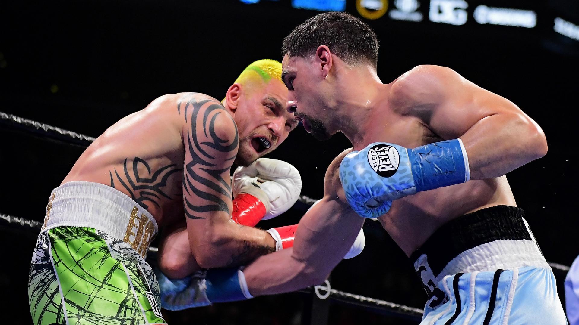 Garcia beats Redkach after alleged eighth-round bite