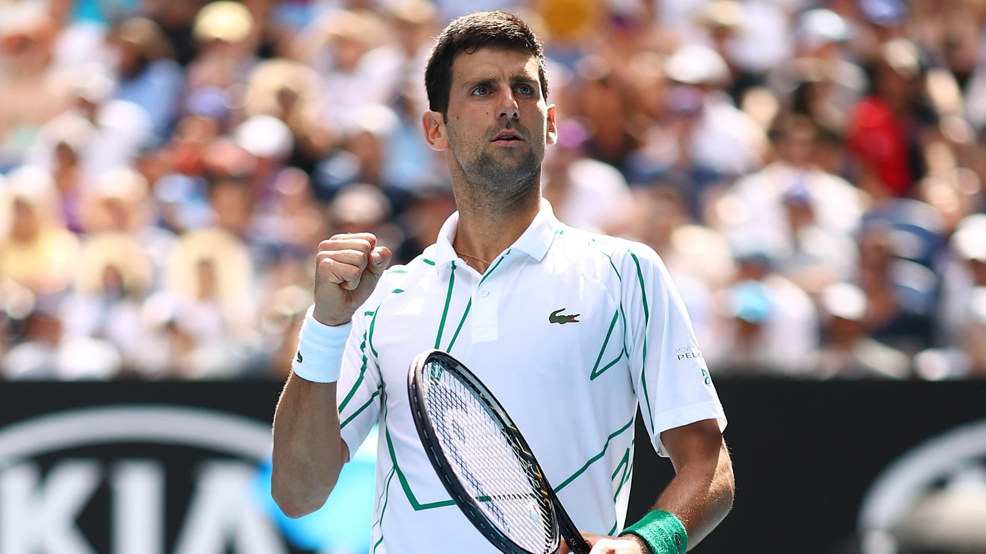 Australian Open 2020: Dominant Djokovic powers through to quarter-finals