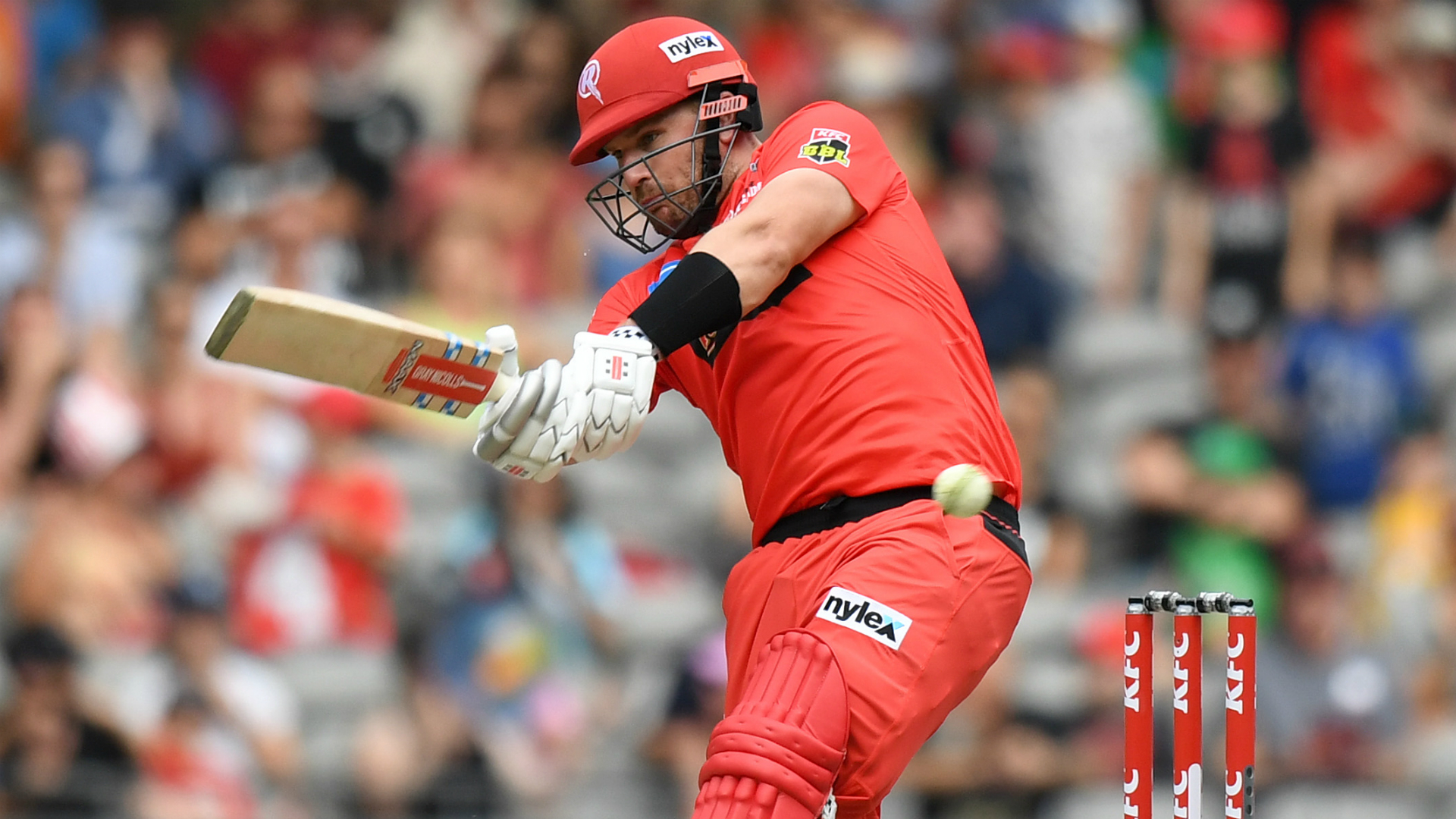 Finch inspires Renegades chase as Heat fail in play-off hunt