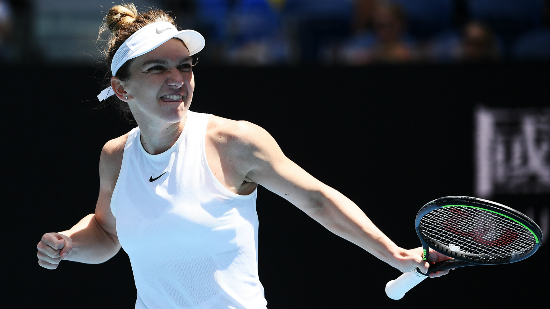 Australian Open 2020: Halep marches on as another seed falls to Muguruza