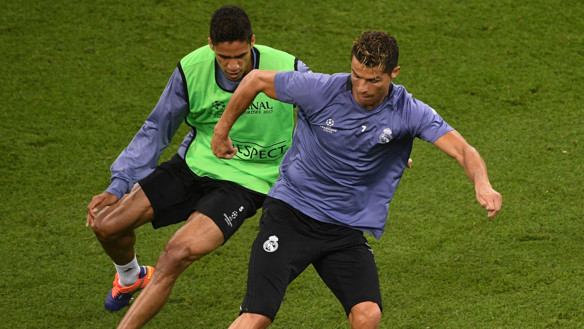 I wasn't disrespectful, but you must show character – Varane recounts snapping at Ronaldo