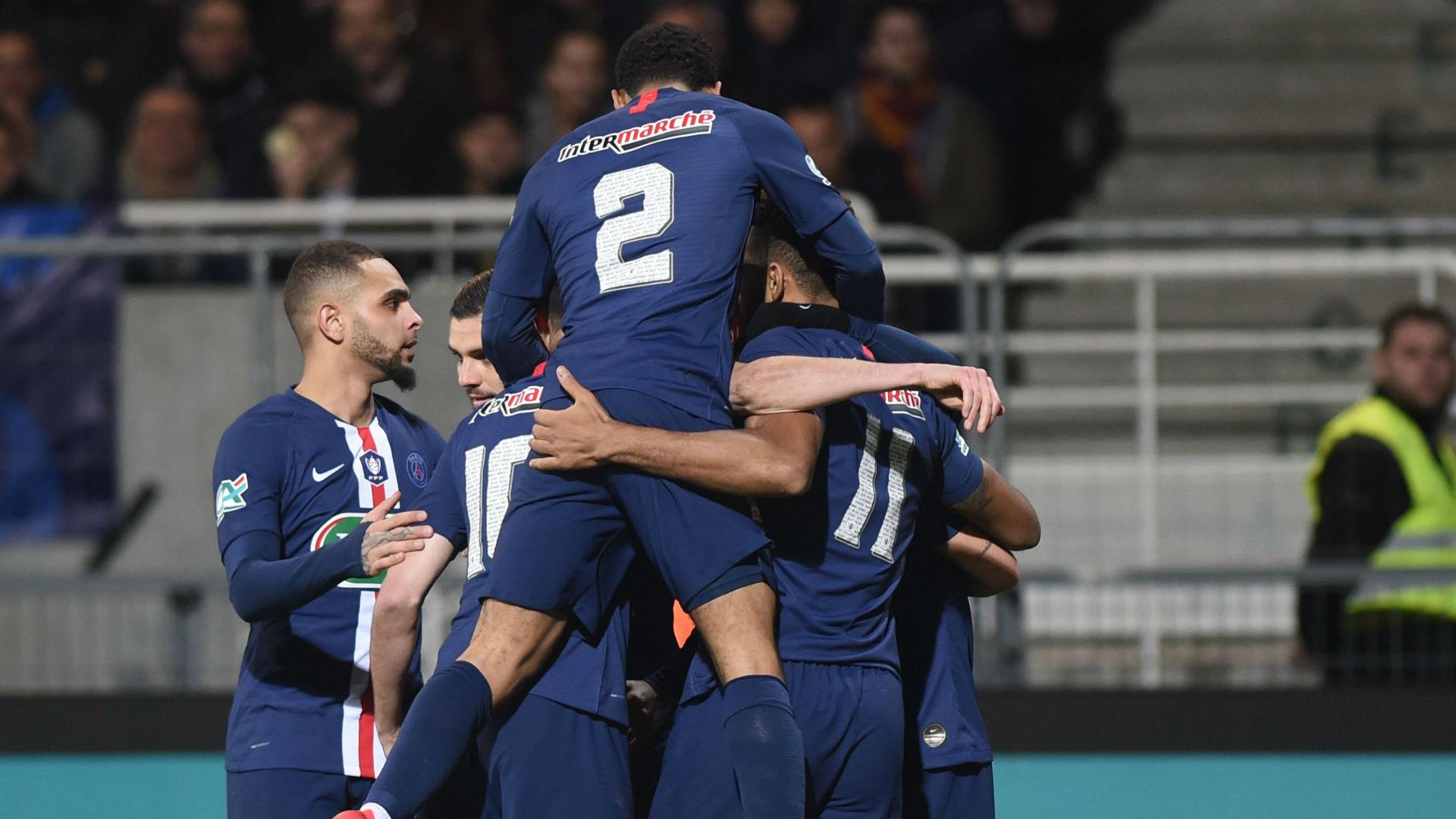 Pau 0-2 Paris Saint-Germain: Ligue 1 leaders breeze into Coupe de France quarters