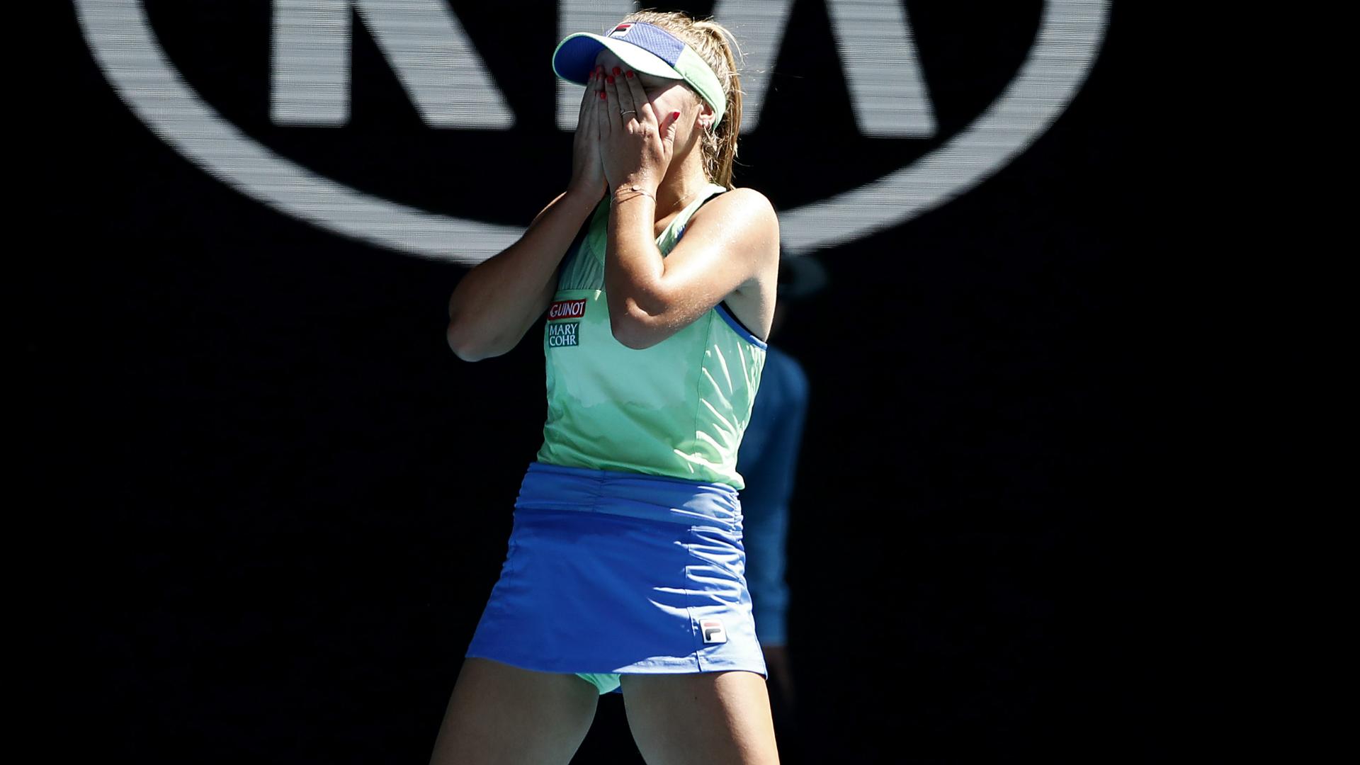 Australian Open 2020: Kenin says she always believed as first grand slam final awaits