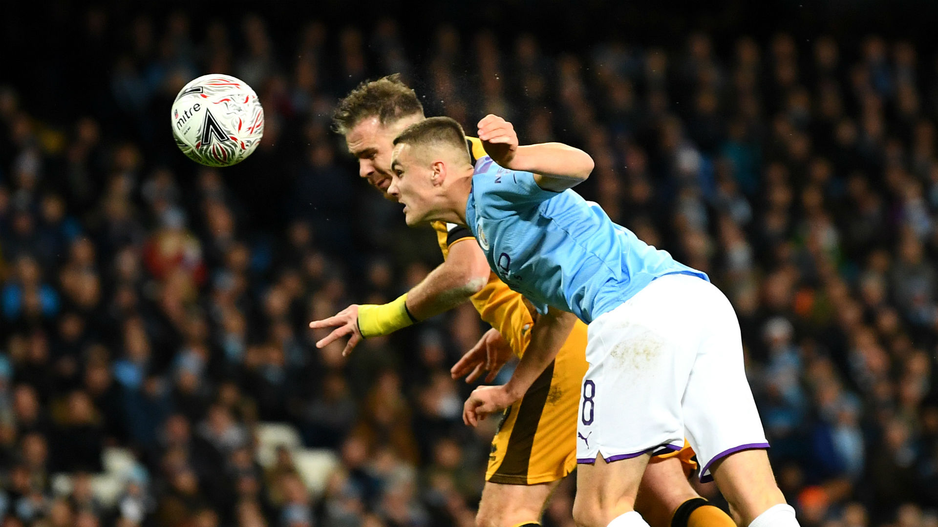 Manchester City 4-1 Port Vale: Holders prevail after Pope enjoys his FA Cup moment
