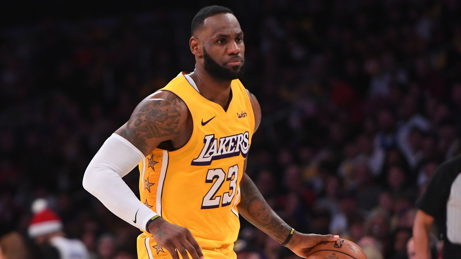 LeBron James lauds Lakers defence after 20-block display against Pistons