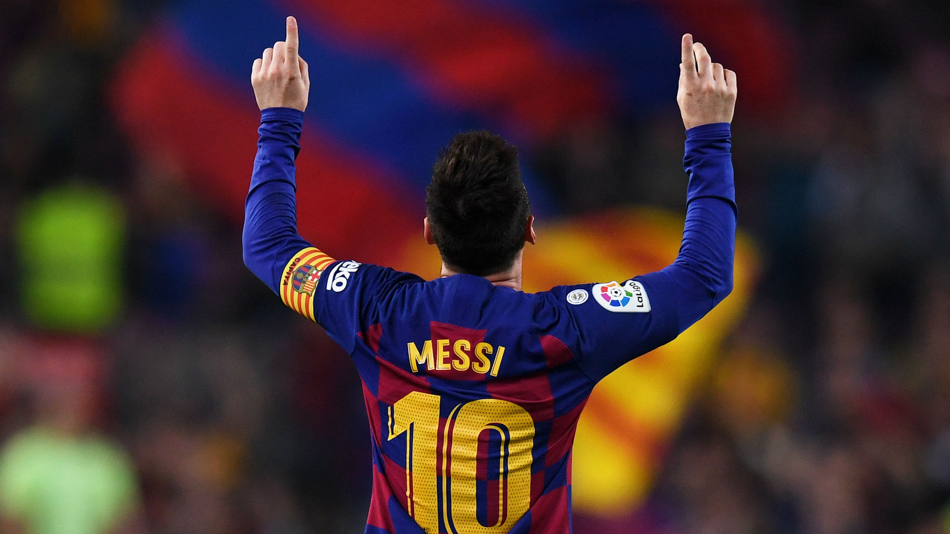 Lionel Messi scores 700th career goal as Barca great makes history again