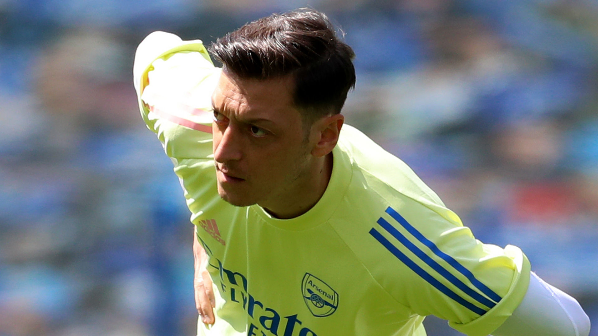 Arteta expects Ozil to be frustrated at lack of game time
