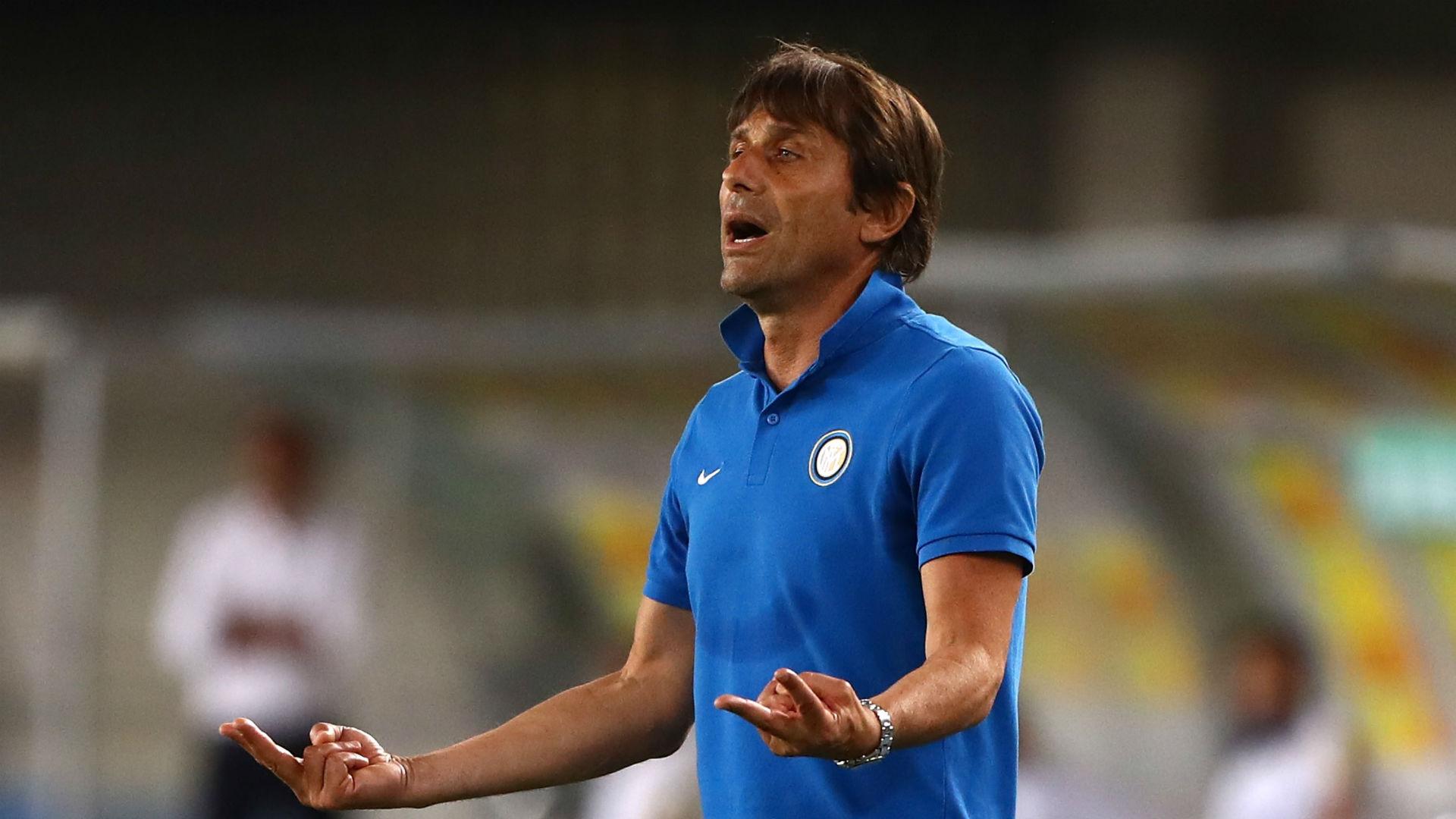 Conte backs Inter players despite Verona draw
