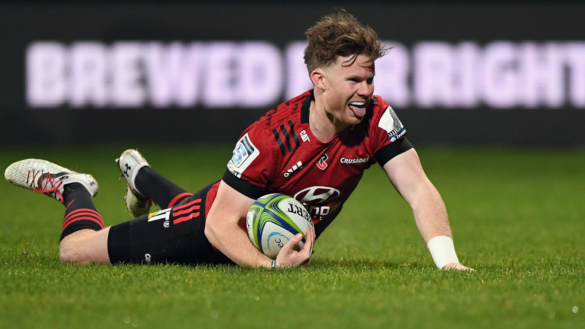 Crusaders end Blues' winning start to stay perfect