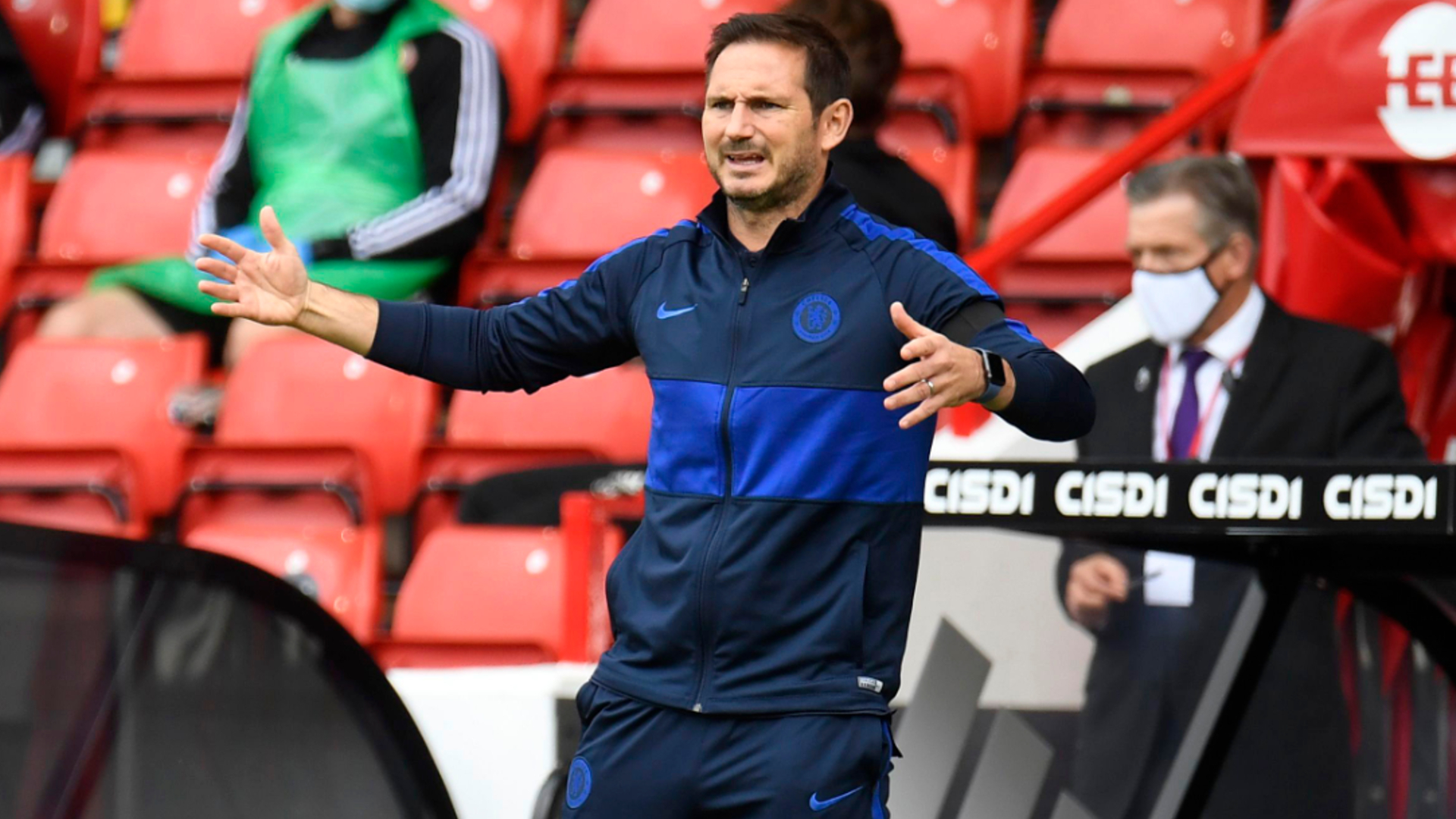 Lampard wants Chelsea stars to make some noise to stop season ending on sour note