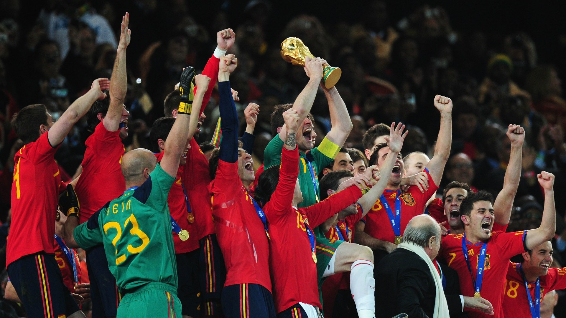 5,966 Touches & Eight Goals: The Numbers Beneath Spain's Polarising 2010 World Cup