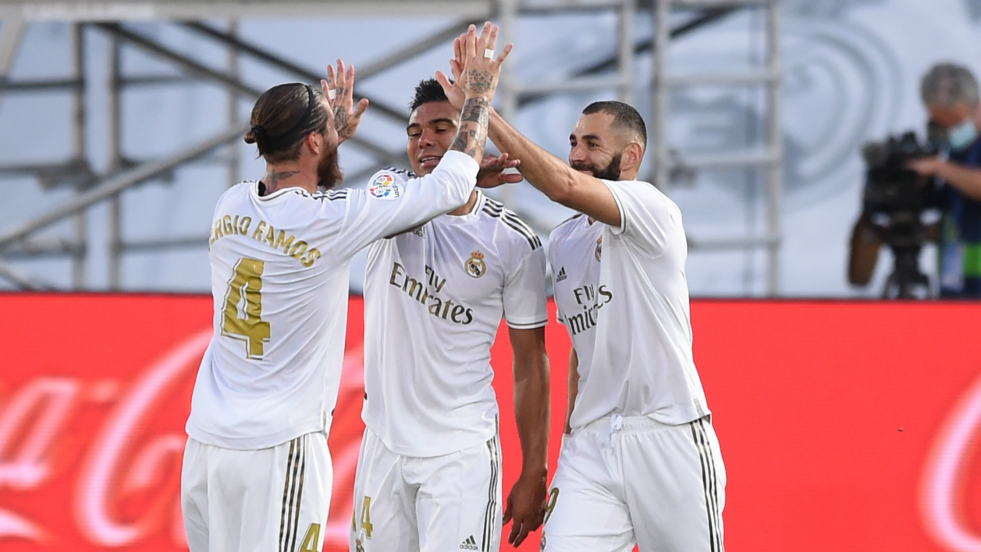 Real Madrid 2-1 Villarreal: Benzema double secures 34th LaLiga title for Los Blancos
