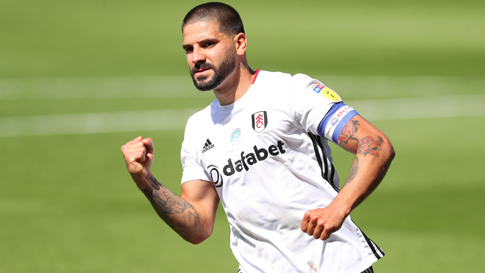 Championship: Mitrovic keeps Fulham in hunt for second