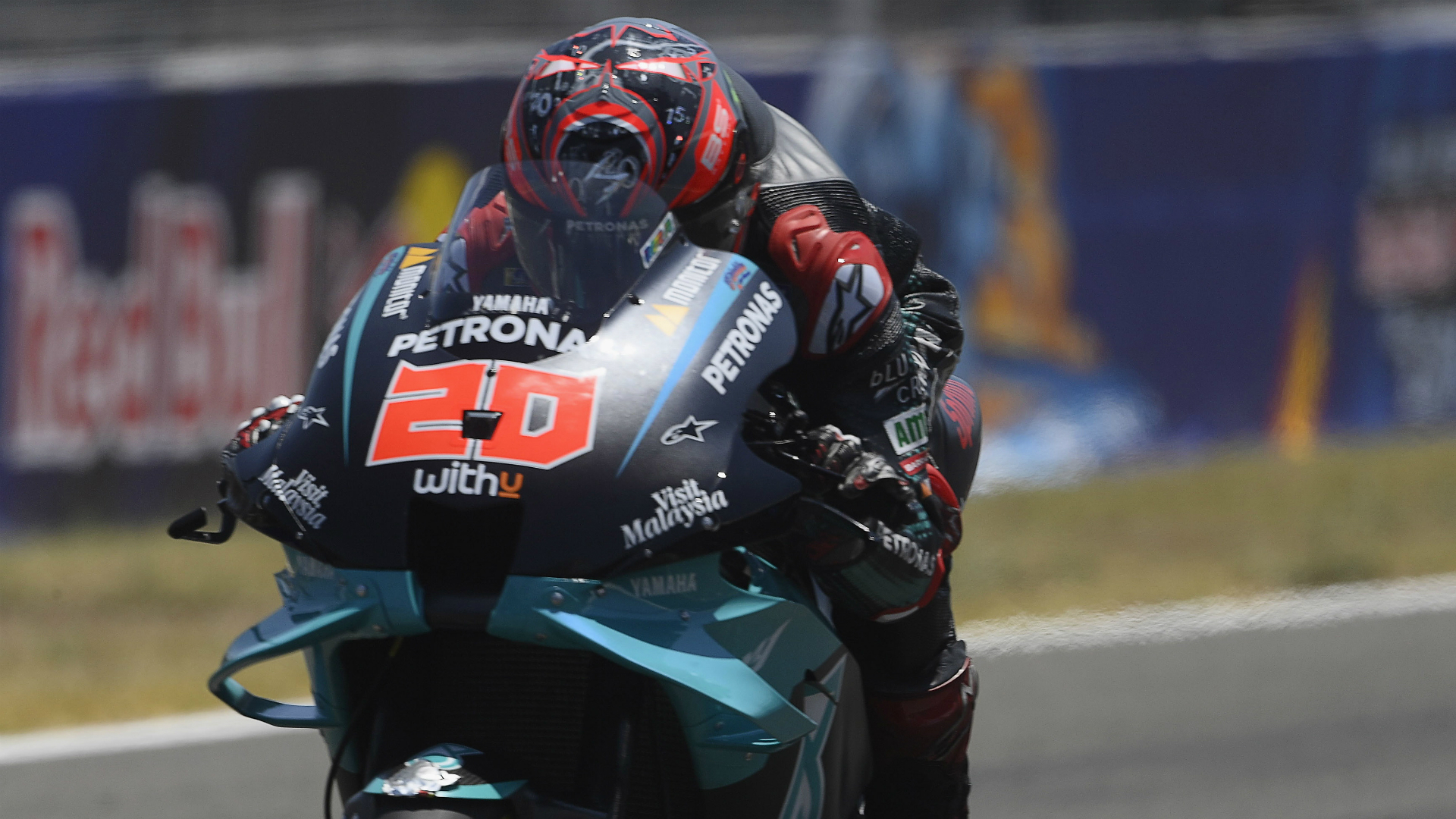 MotoGP 2020: Quartararo finally turns pole into victory as Marquez injured