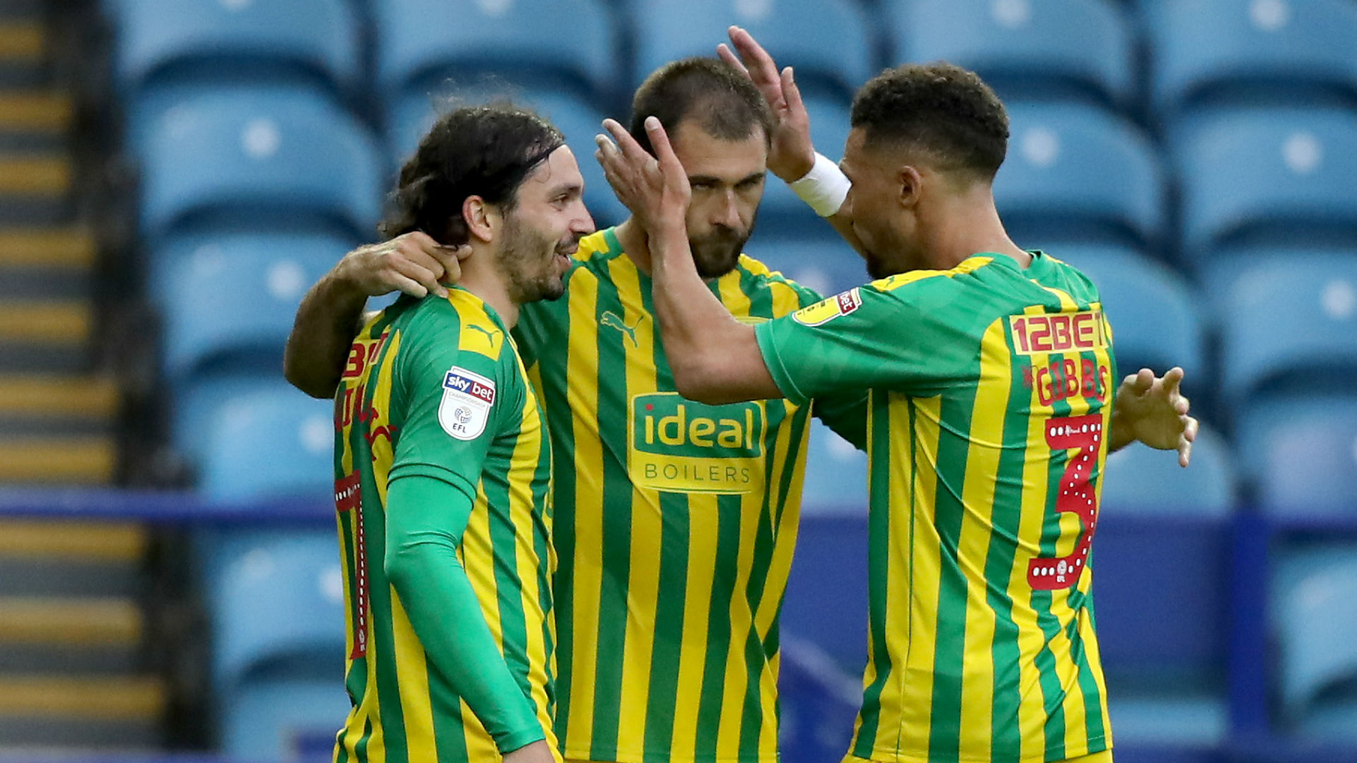 Championship: Baggies close gap on Leeds, Rooney boosts Derby's play-off push