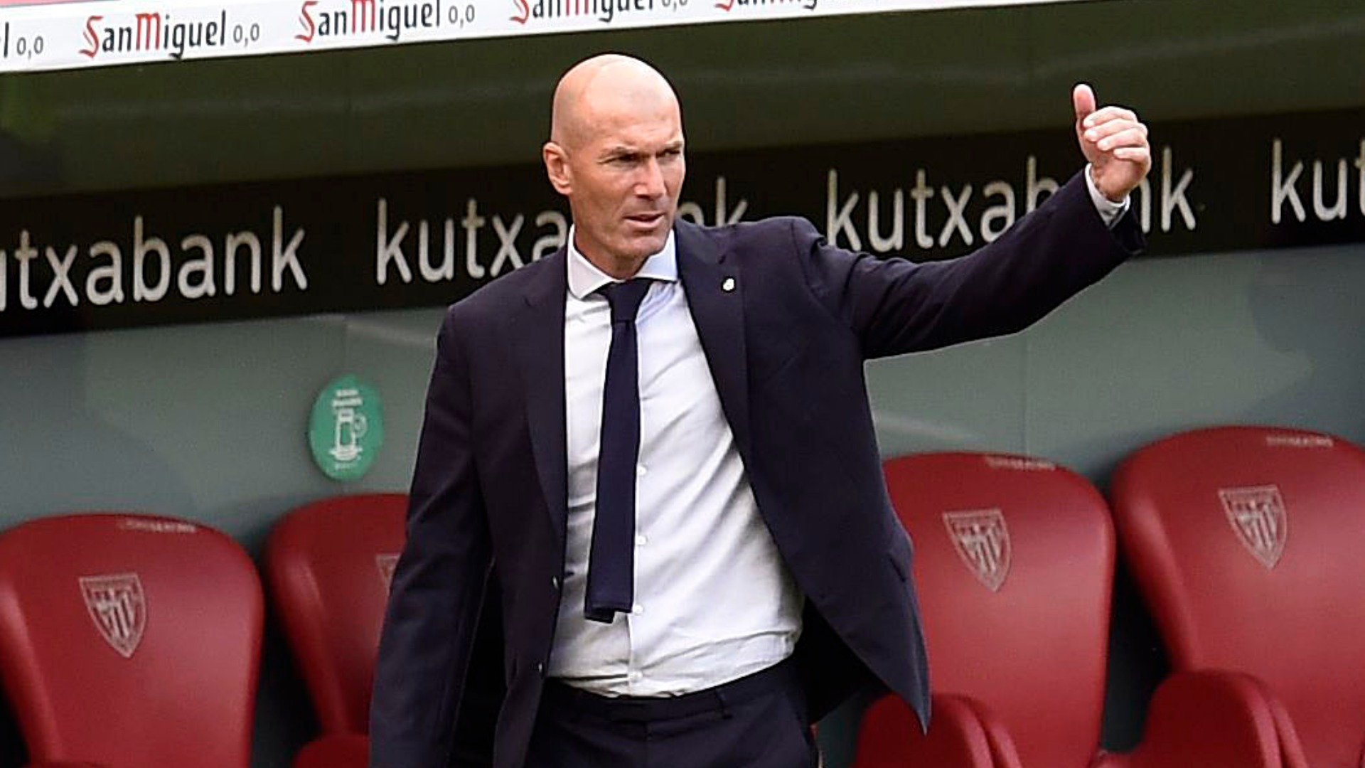 Madrid players can 'disconnect' ahead of Champions League, says Zidane