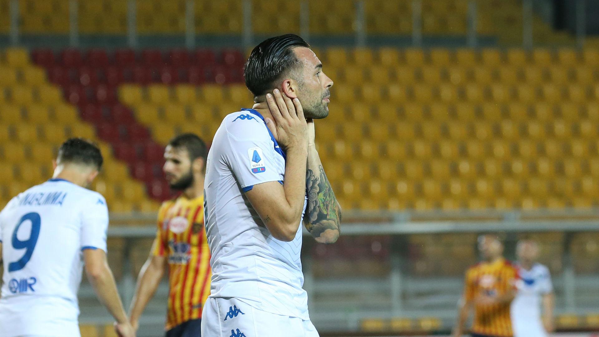 Brescia relegated from Serie A