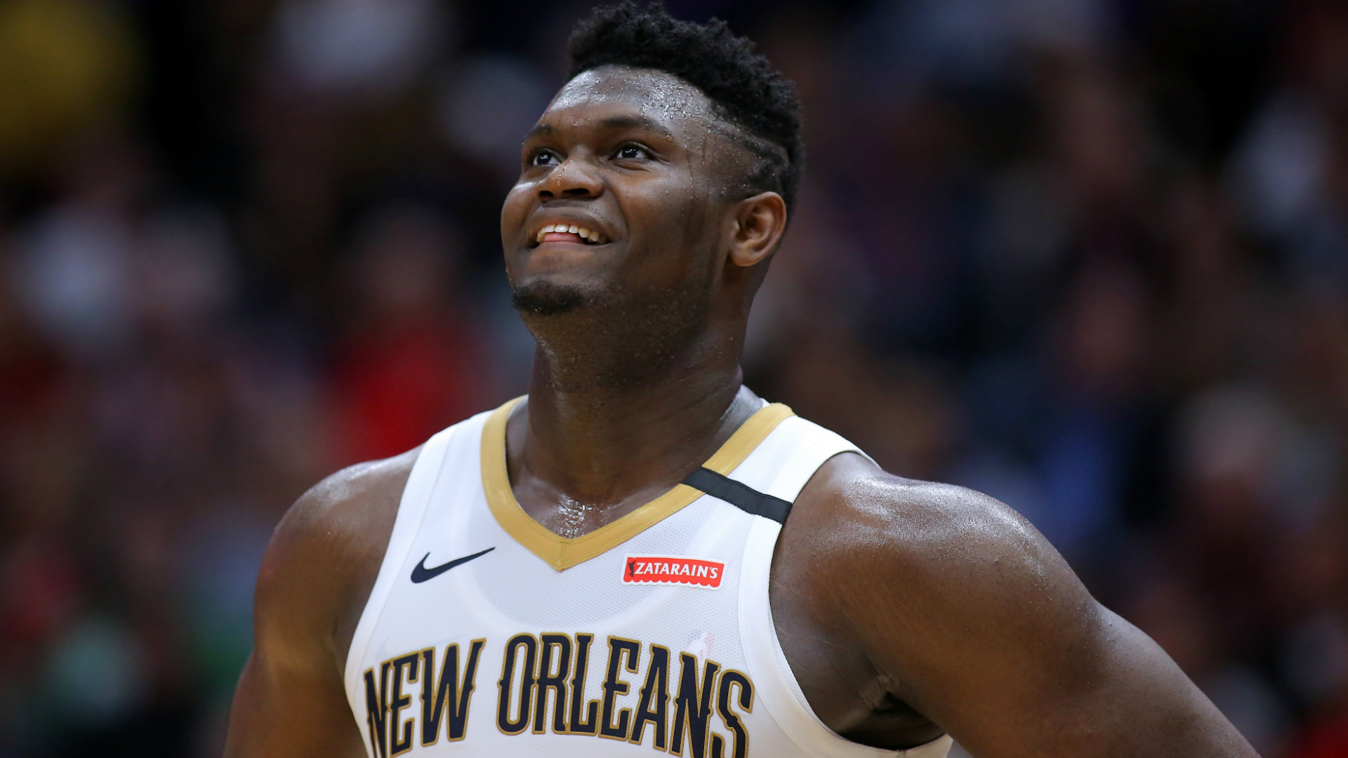Zion questionable for Pelicans opener but Williamson just wants to 'hoop'