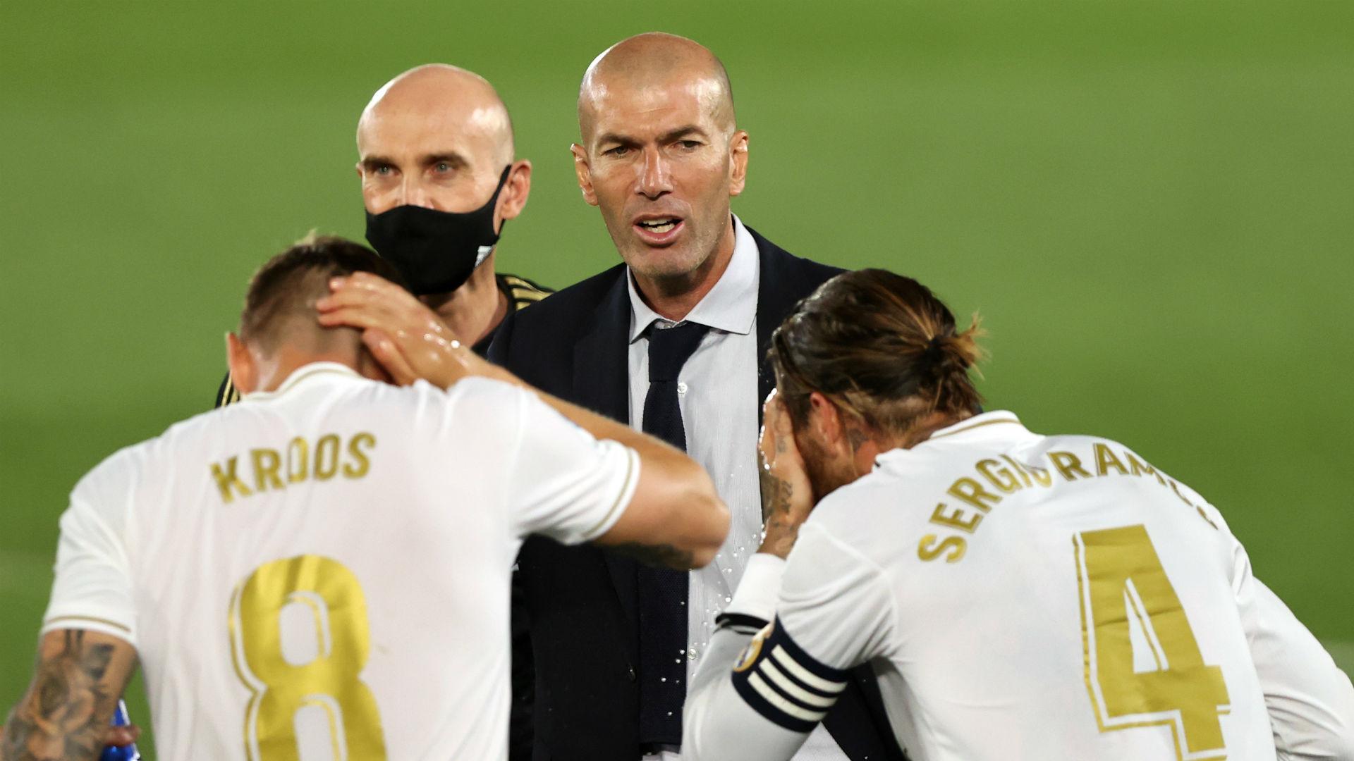 No LaLiga euphoria at Madrid as Zidane preaches focus