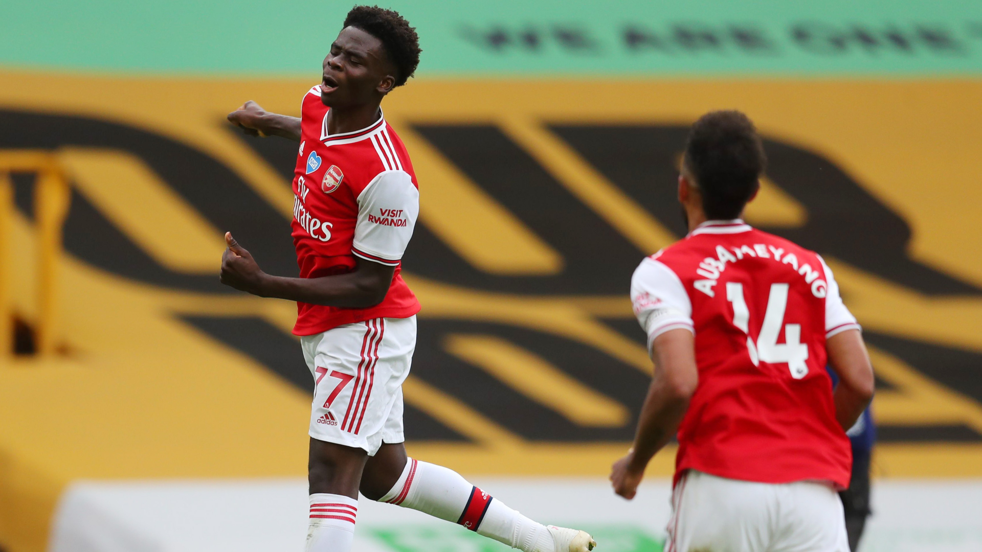Wolves 0-2 Arsenal: Saka, Lacazette strike blow in battle for Europe