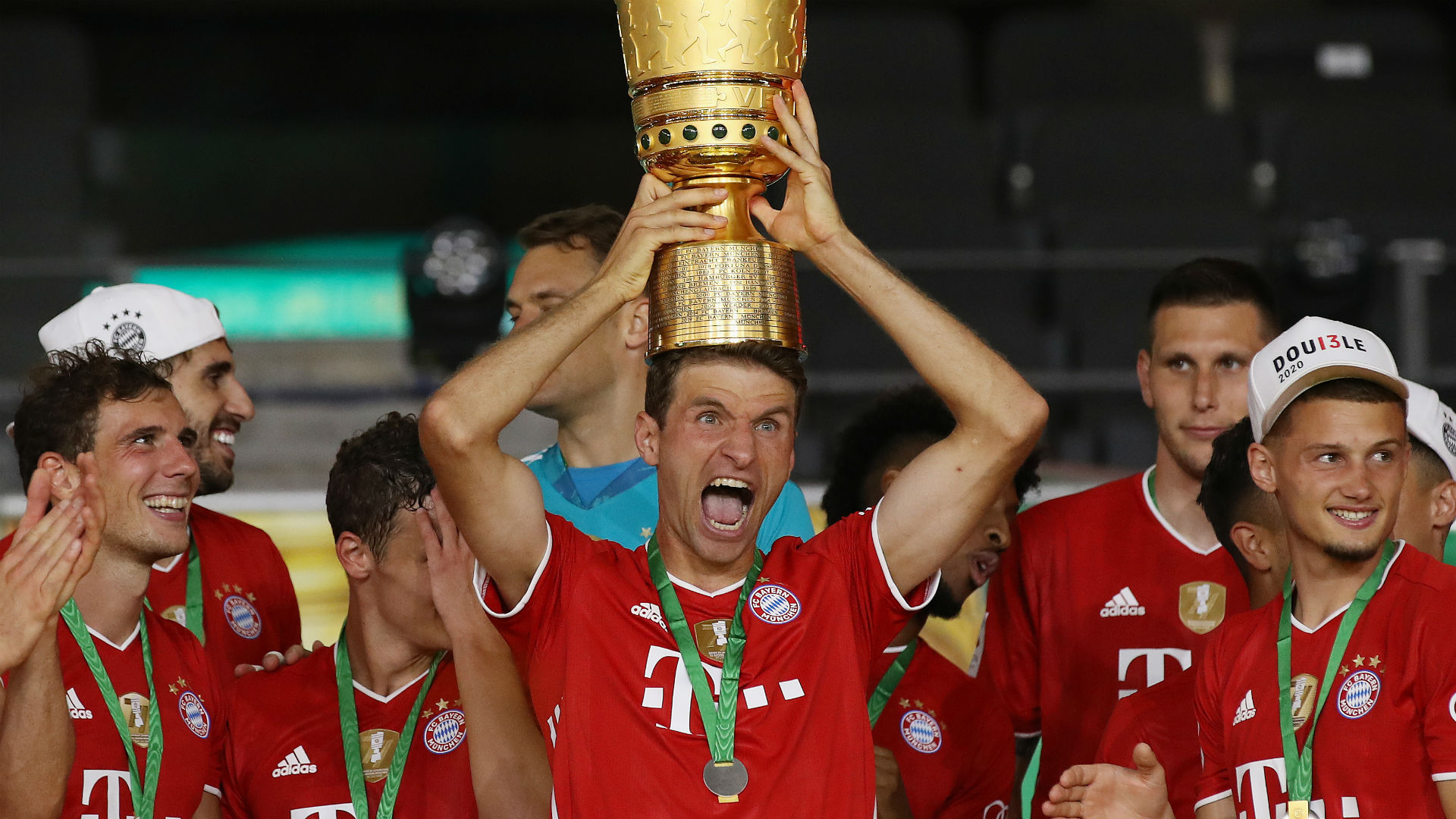 Winning DFB-Pokal in empty Olympiastadion 'hurts' Muller ...