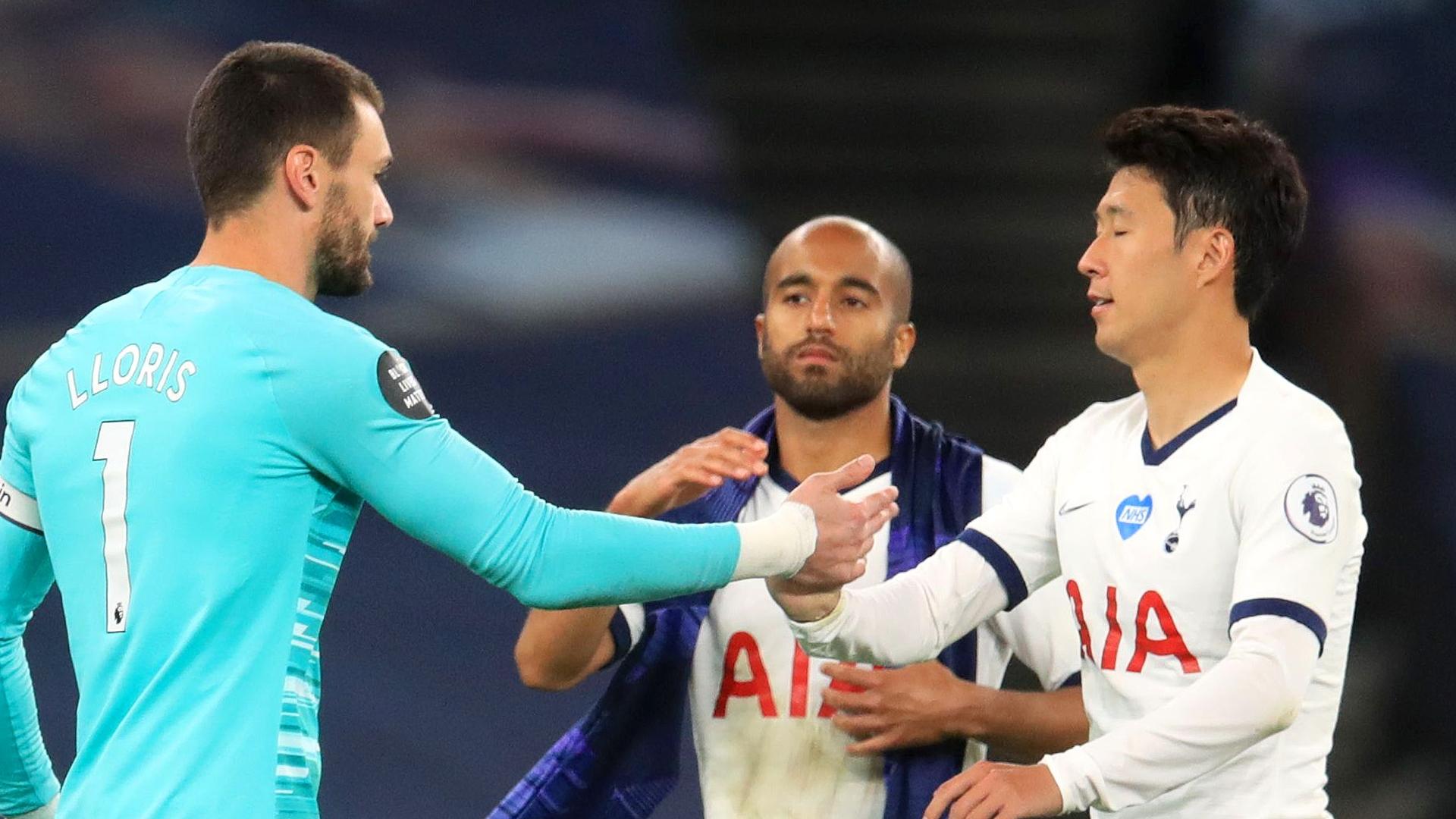 Lloris explains bust-up with Spurs team-mate Son