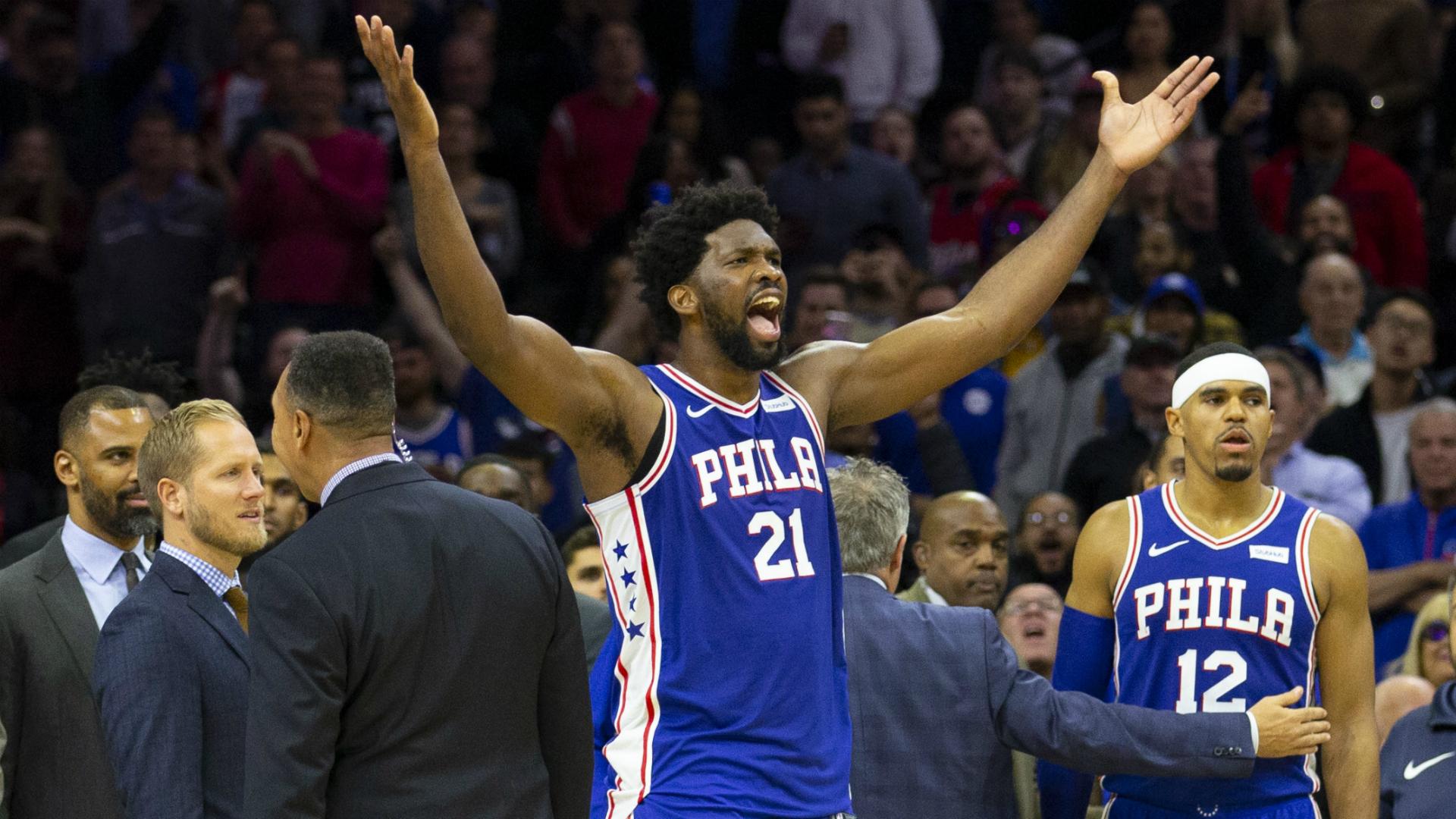 Embiid: I can carry Philadelphia 76ers