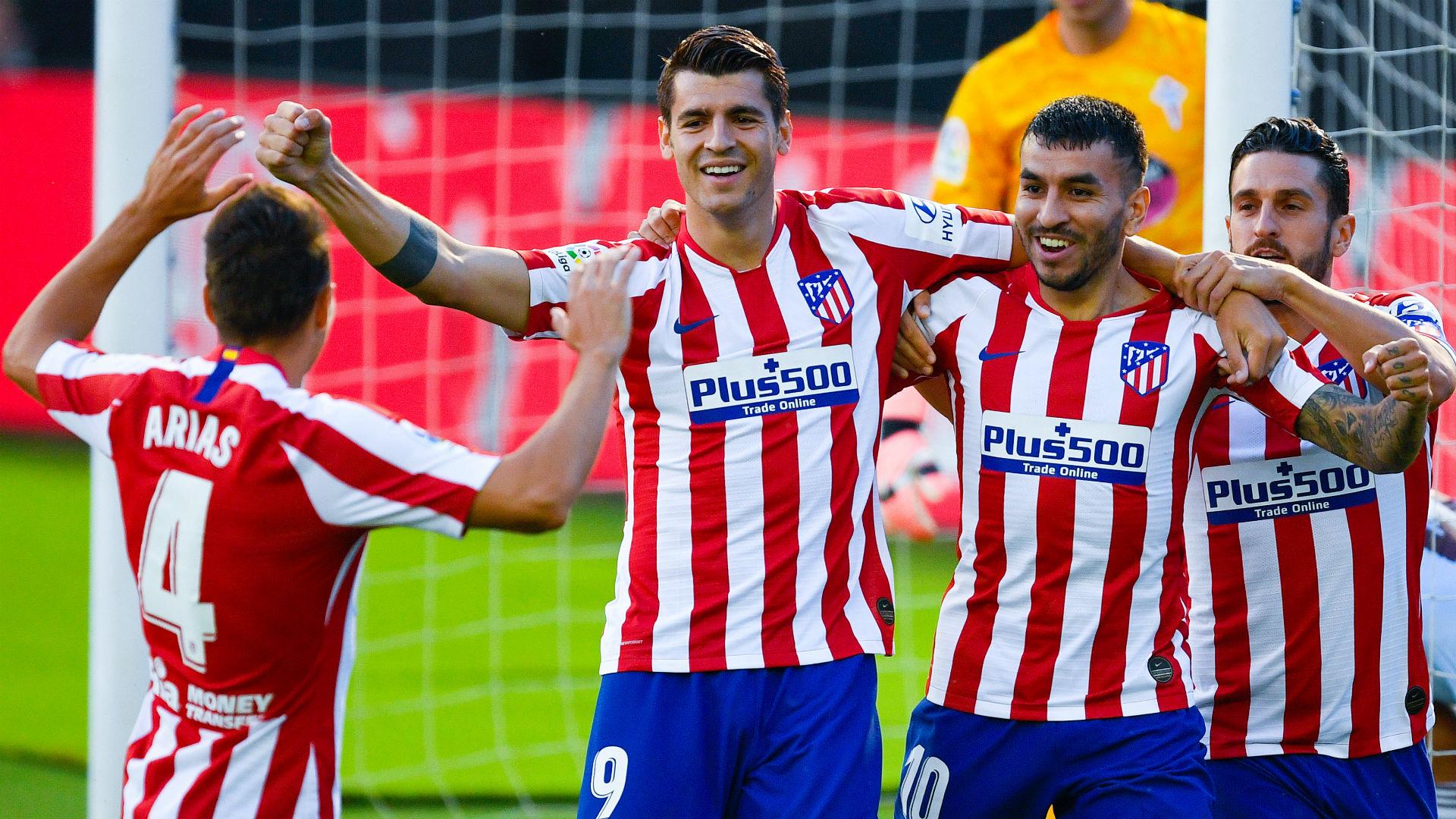 Celta Vigo 1-1 Atletico Madrid: All square after Morata scores fastest goal of LaLiga season