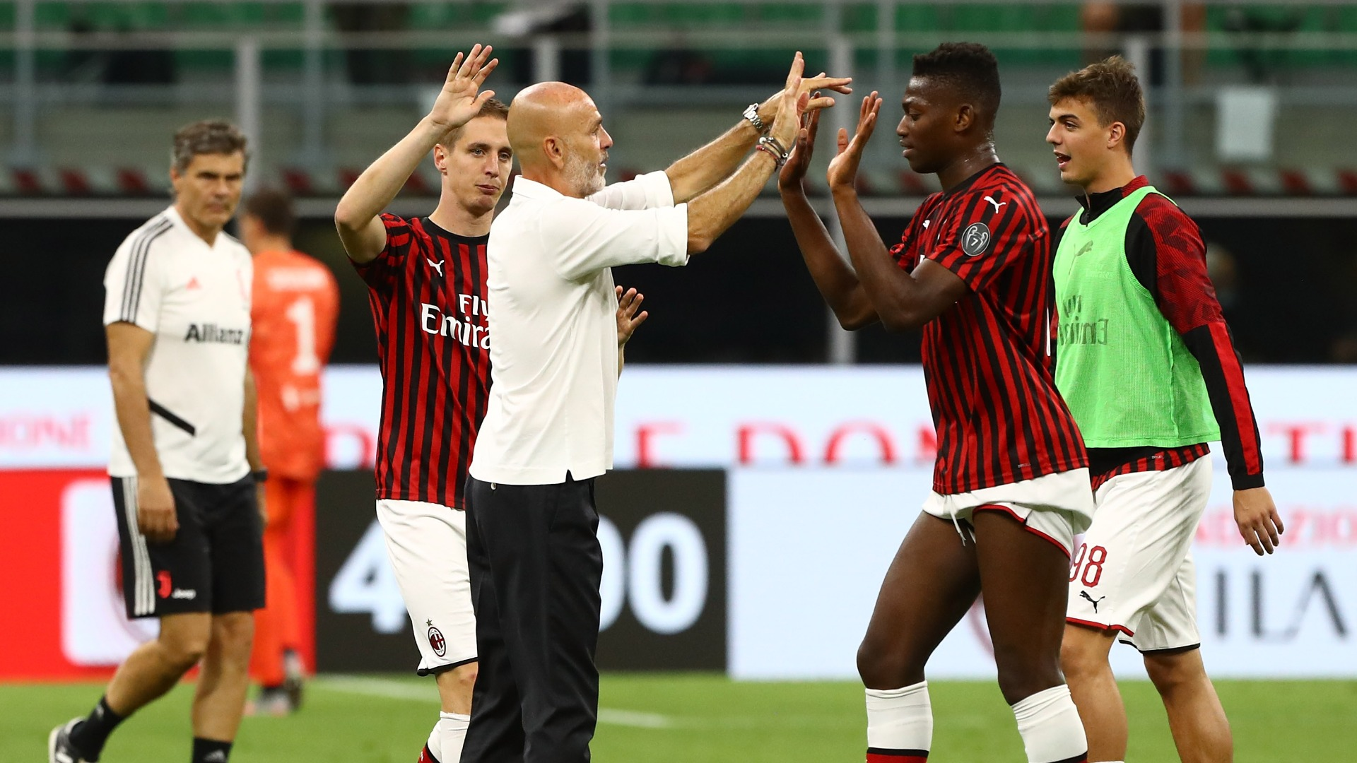 Pioli not concerned about Milan future after stunning Juventus