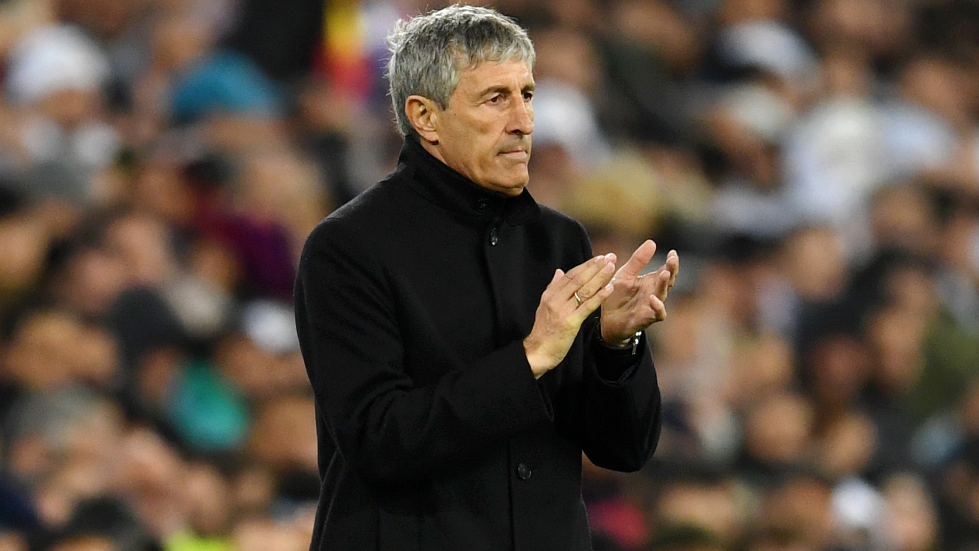 Setien unworried about Real Madrid as Barcelona continue chase