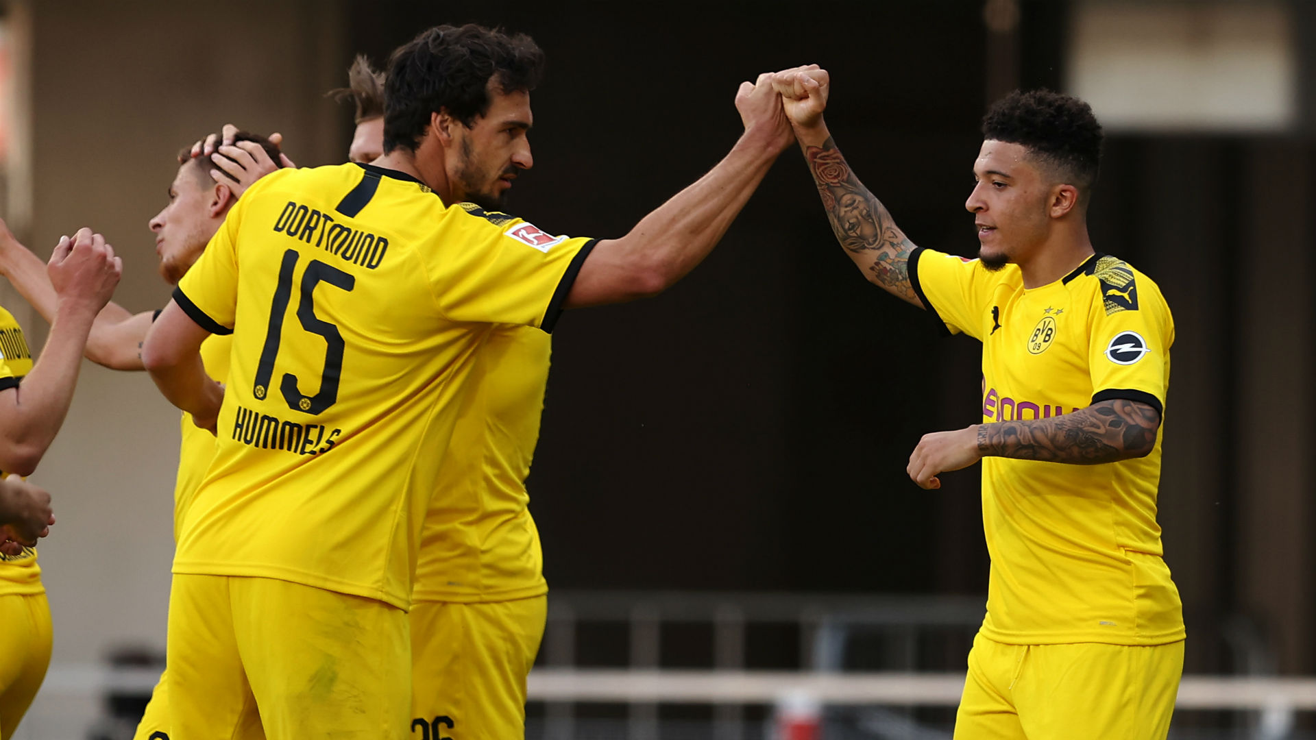 Sancho breaks English and Bundesliga records with Borussia Dortmund hat-trick