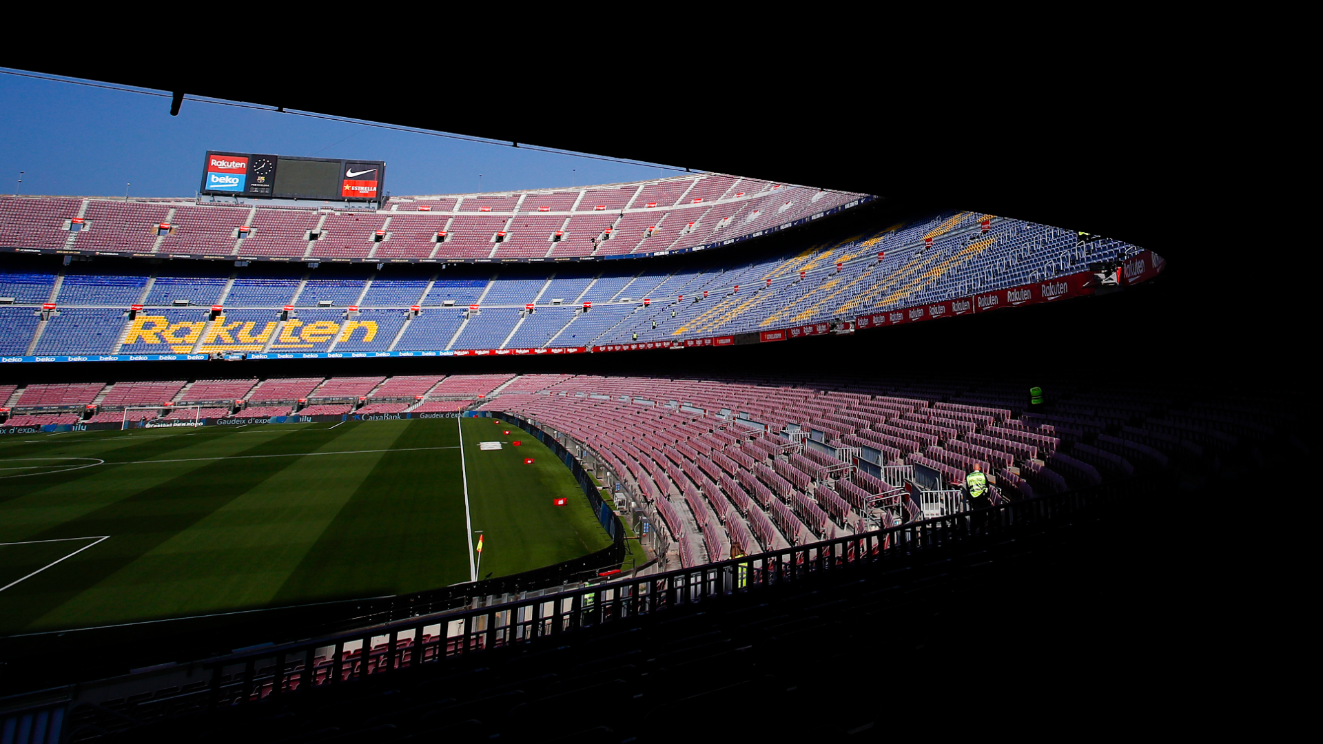 Coronavirus: LaLiga president Tebas hopes to see fans in stadiums before end of the season