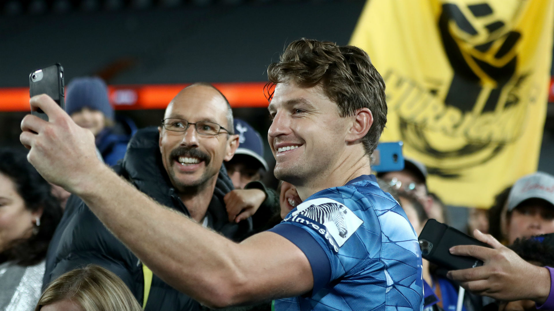 Blues edge Hurricanes at sold out Eden Park
