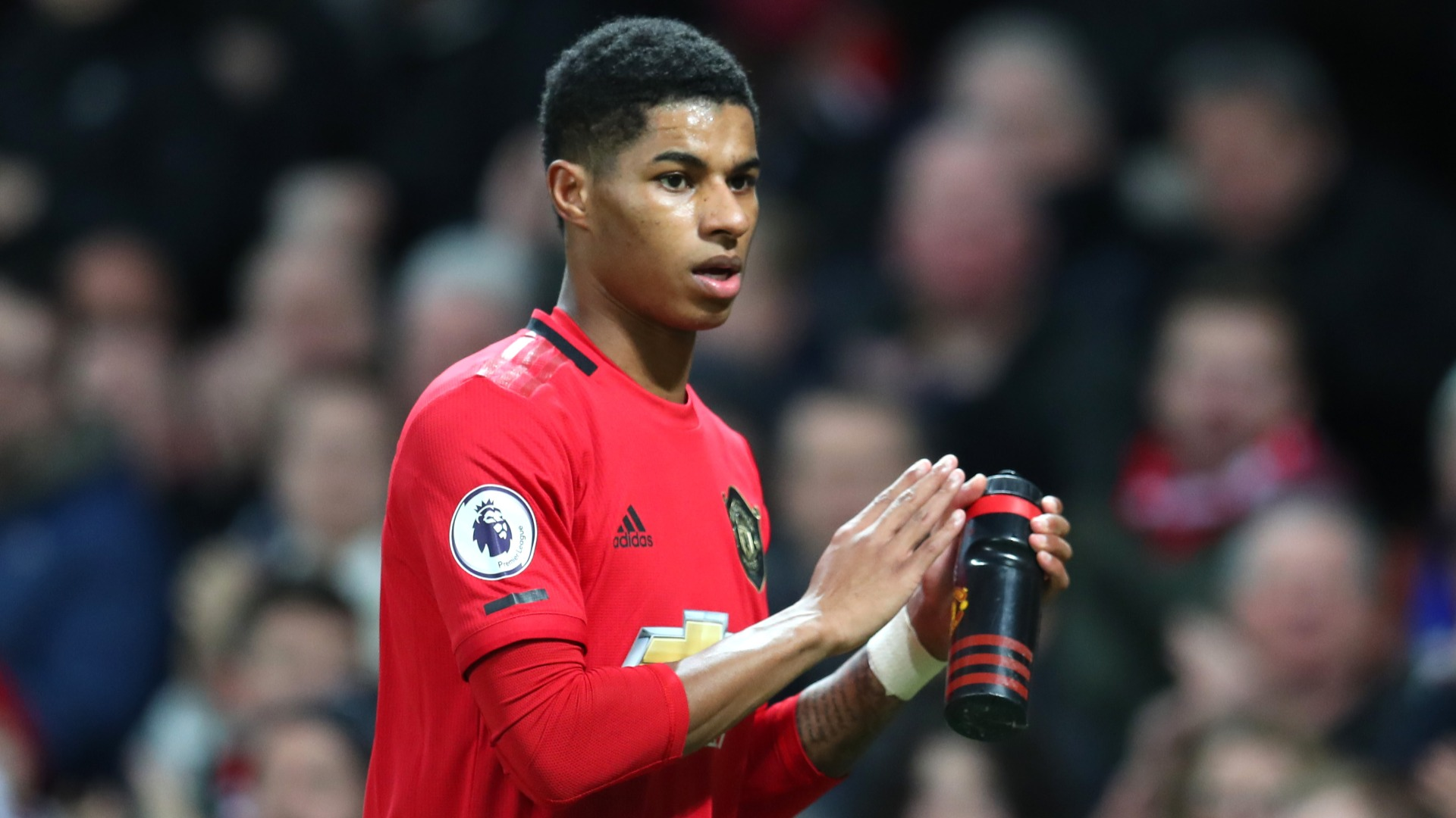 Man Utd's Rashford pleads with UK government to continue free meals in open letter