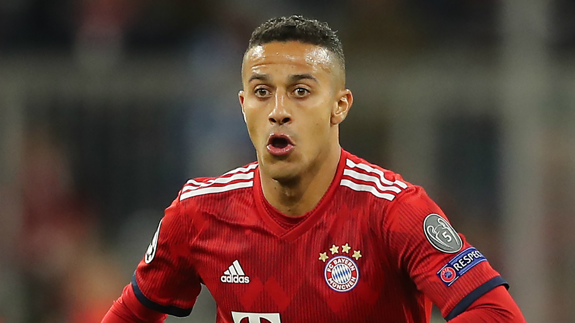 Thiago back in Bayern training after three-game absence