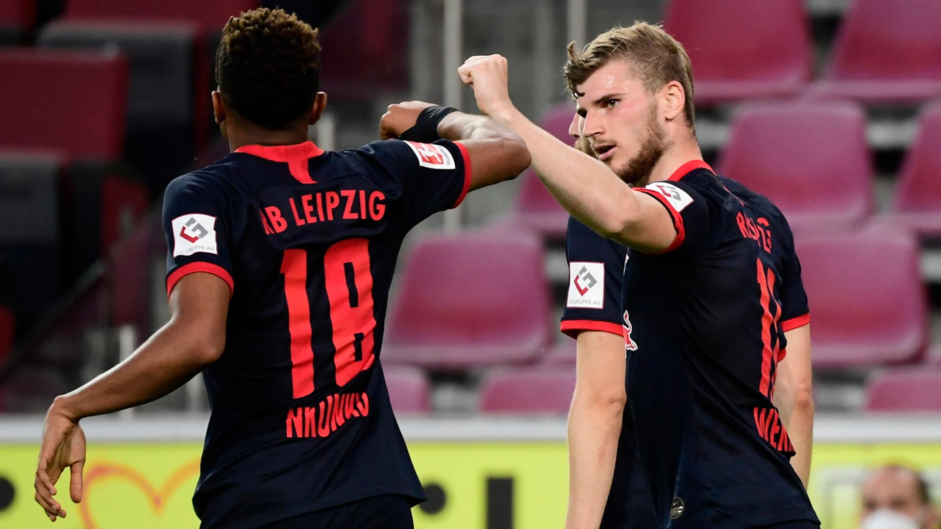 Cologne 2-4 RB Leipzig: Werner on target in return to winning ways