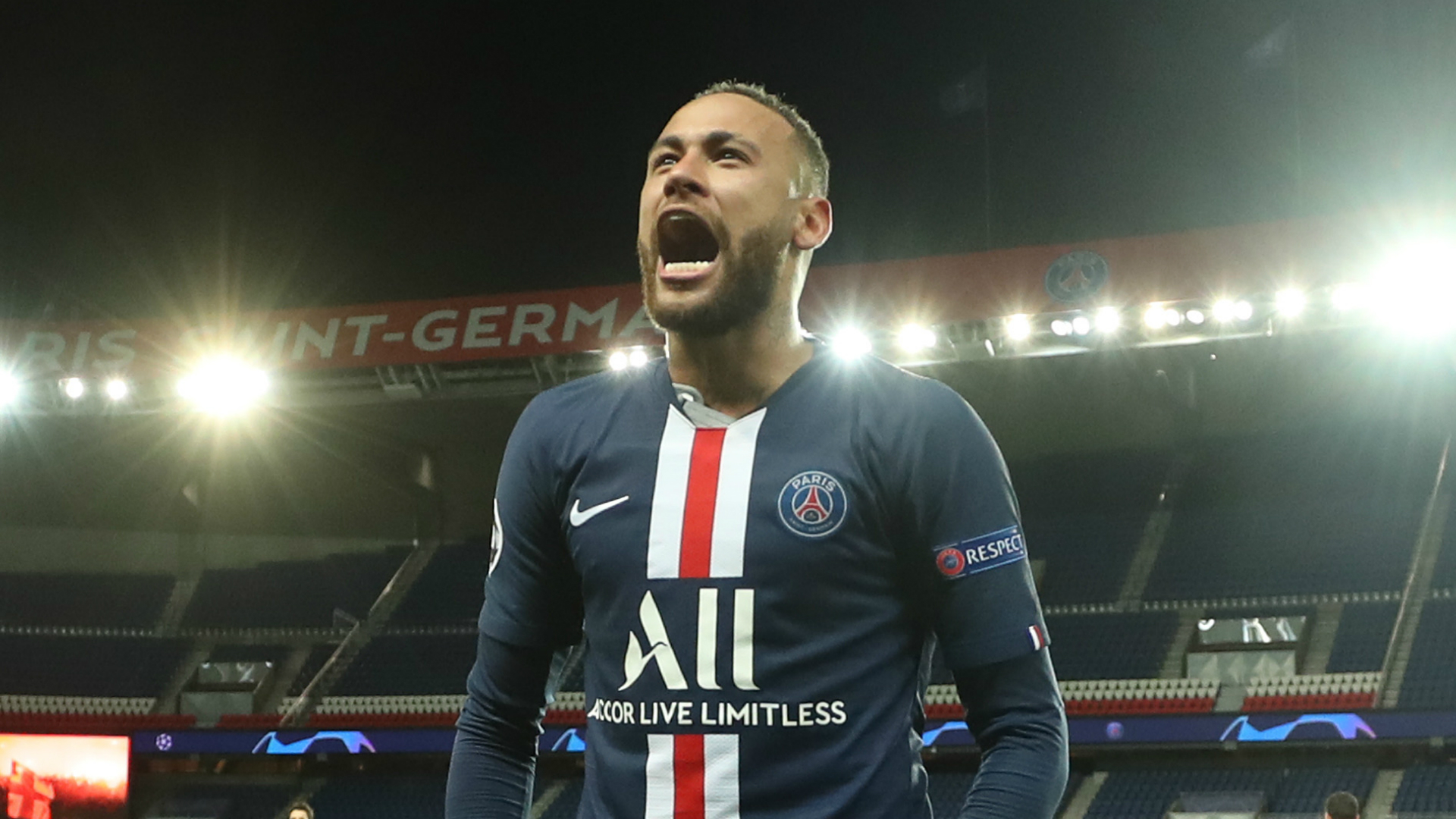 Neymar out to 'make history' for PSG when Champions League returns