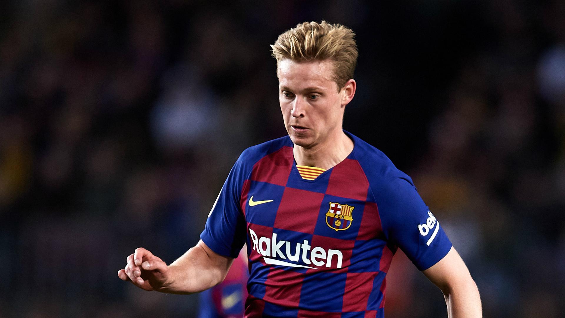 Barcelona confirm calf injury for Frenkie de Jong
