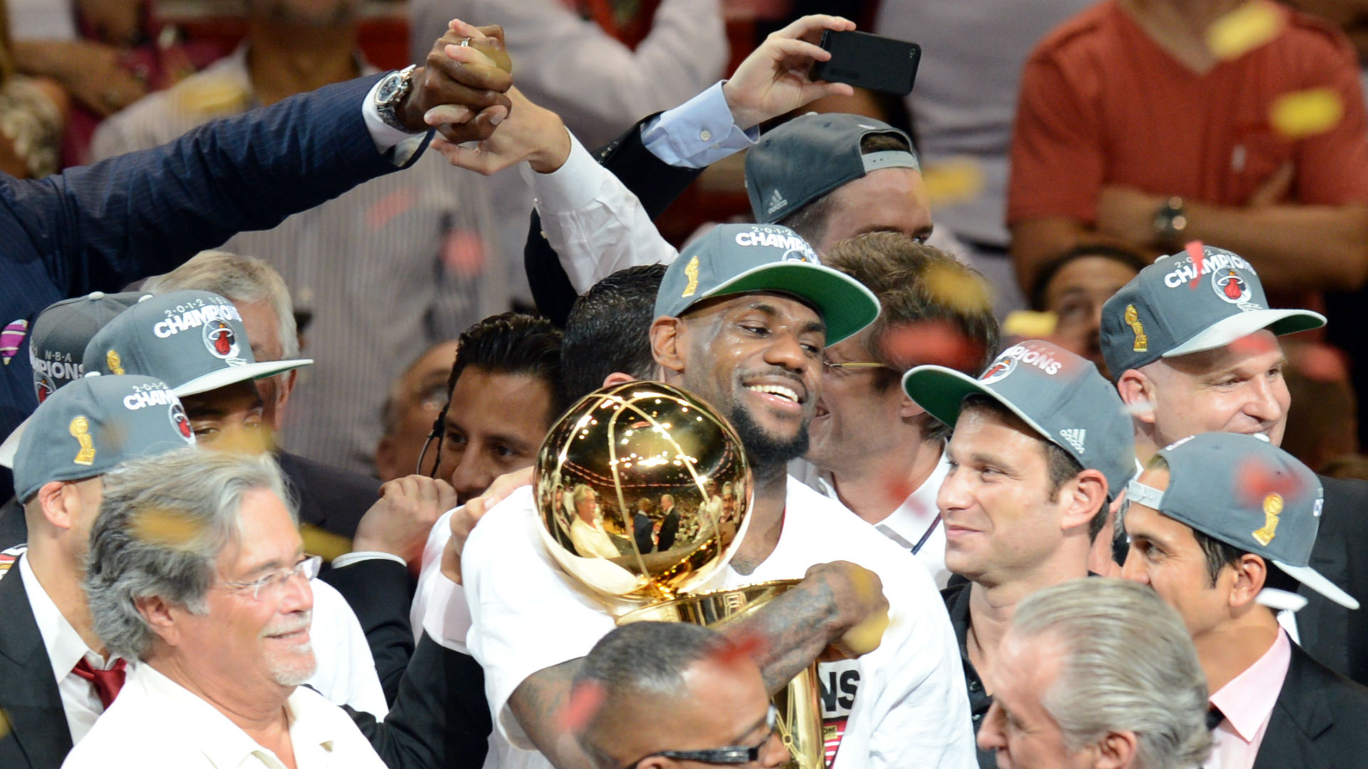 On this day in sport: Brazil make World Cup history, LeBron's wait comes to an end