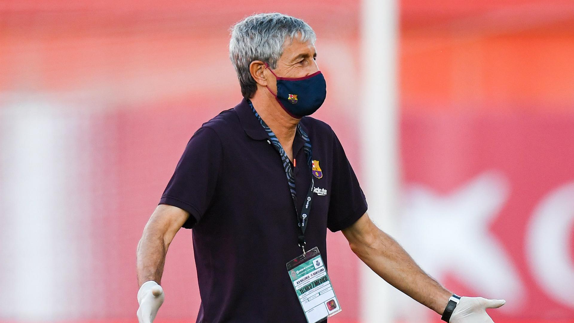 Setien understands VAR concerns after Real Madrid row
