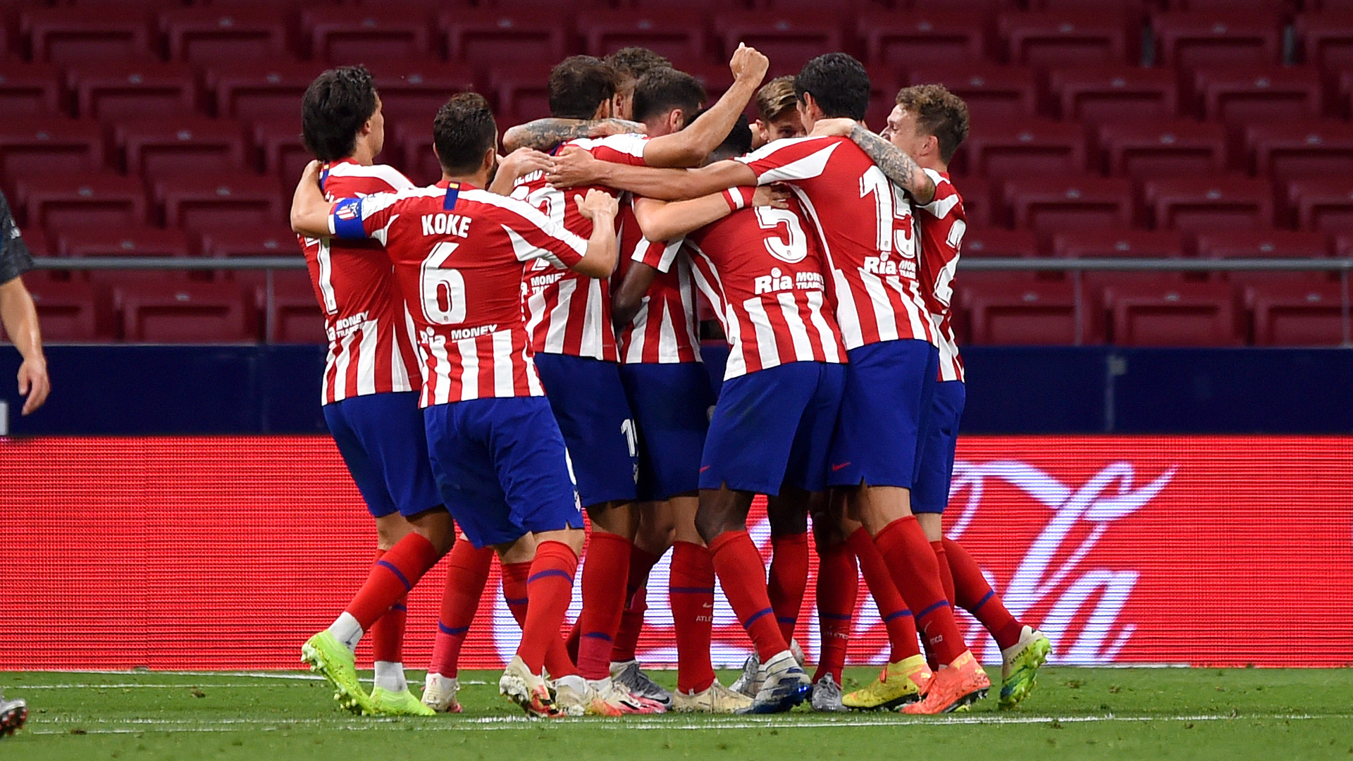 Saul calls for Atletico to continue run after fourth straight win