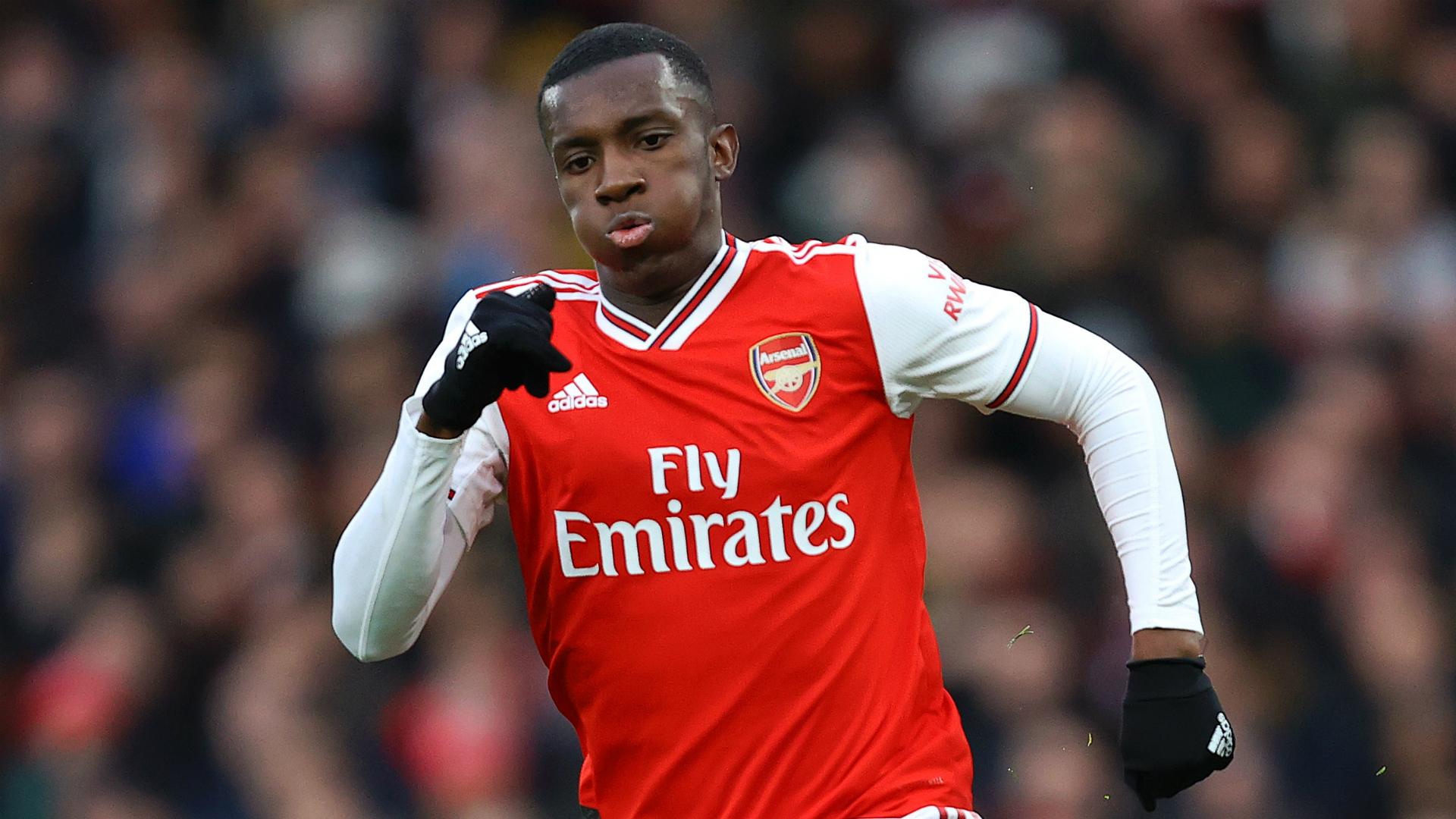 Eddie Nketiah scores hat-trick as Arsenal return with 6-0 win over Charlton
