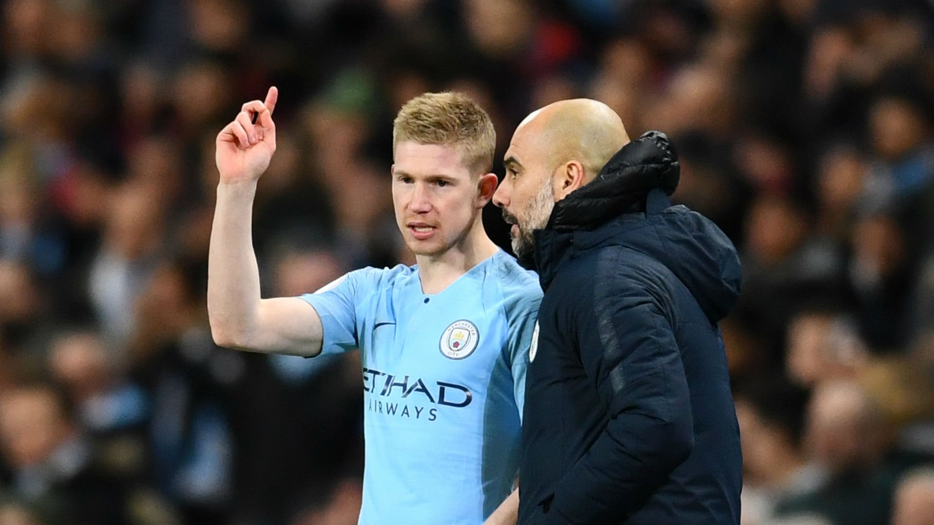 De Bruyne will challenge himself - Guardiola says he can do little to improve 'exceptional' City star