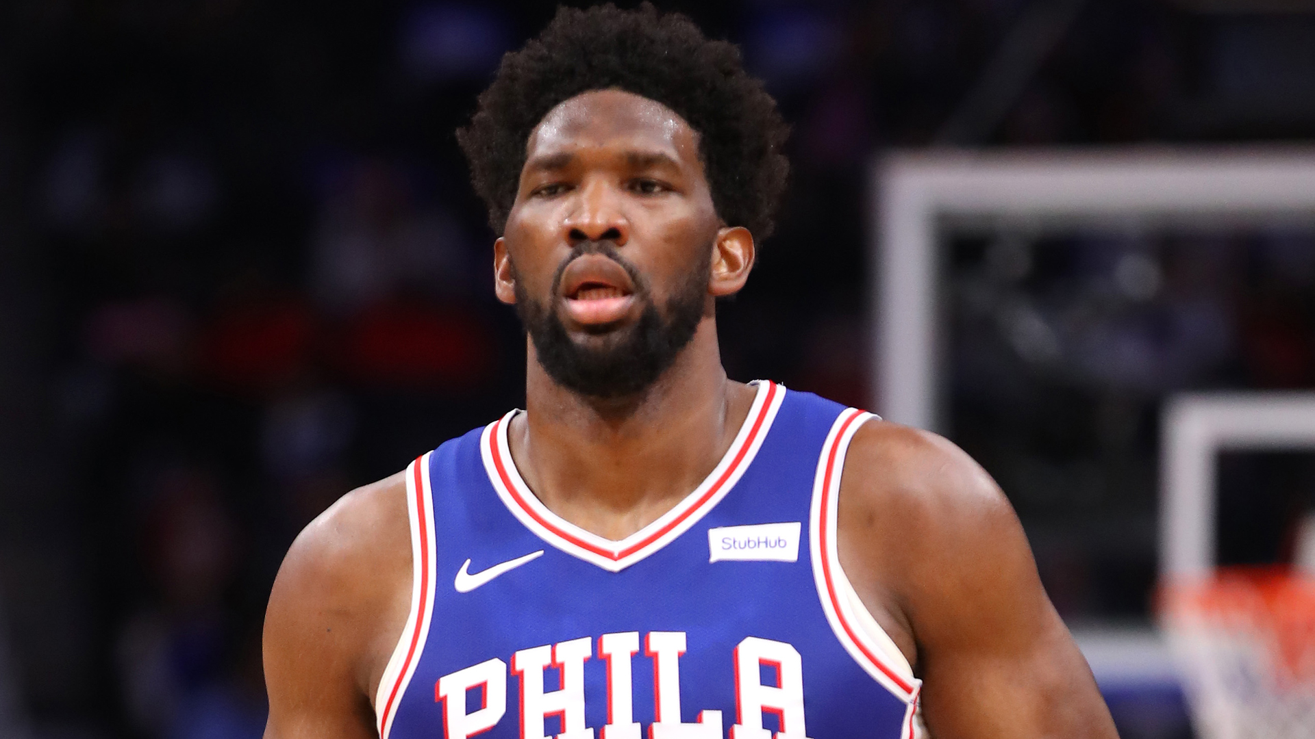 Embiid stars on return for 76ers before NBA season suspended