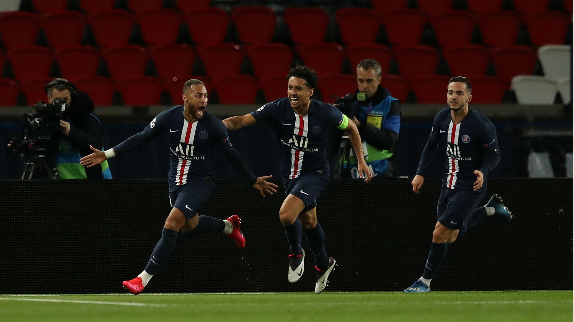 Paris Saint-Germain 2-0 Borussia Dortmund (3-2 agg): Neymar helps book QF spot at empty Parc des Princes