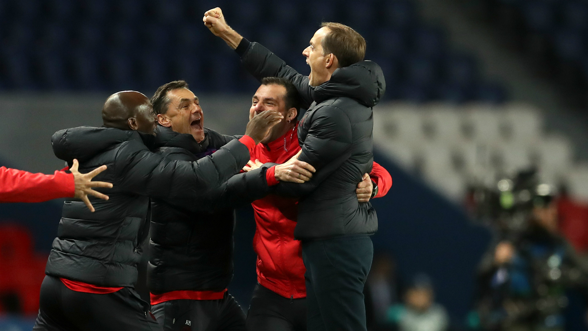 Tuchel celebrates as PSG return to Champions League quarter-finals