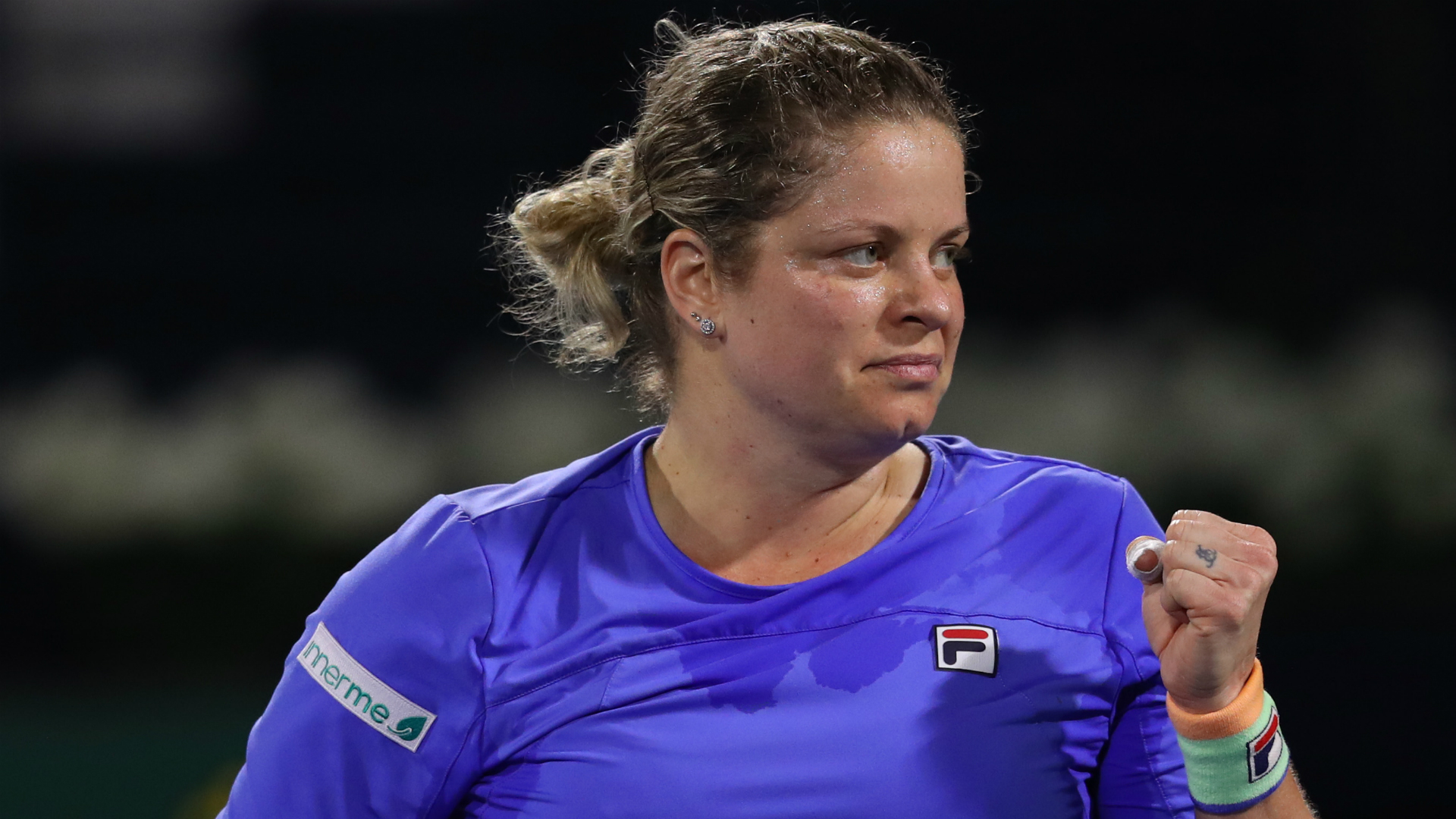 Kim Clijsters 'improving' ahead of second match in comeback