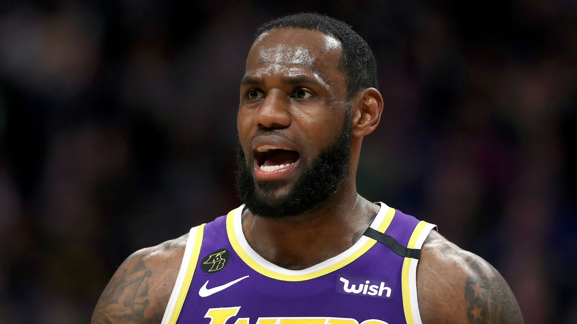 LeBron slams critics of his mentoring: Tell them they can kiss my a***